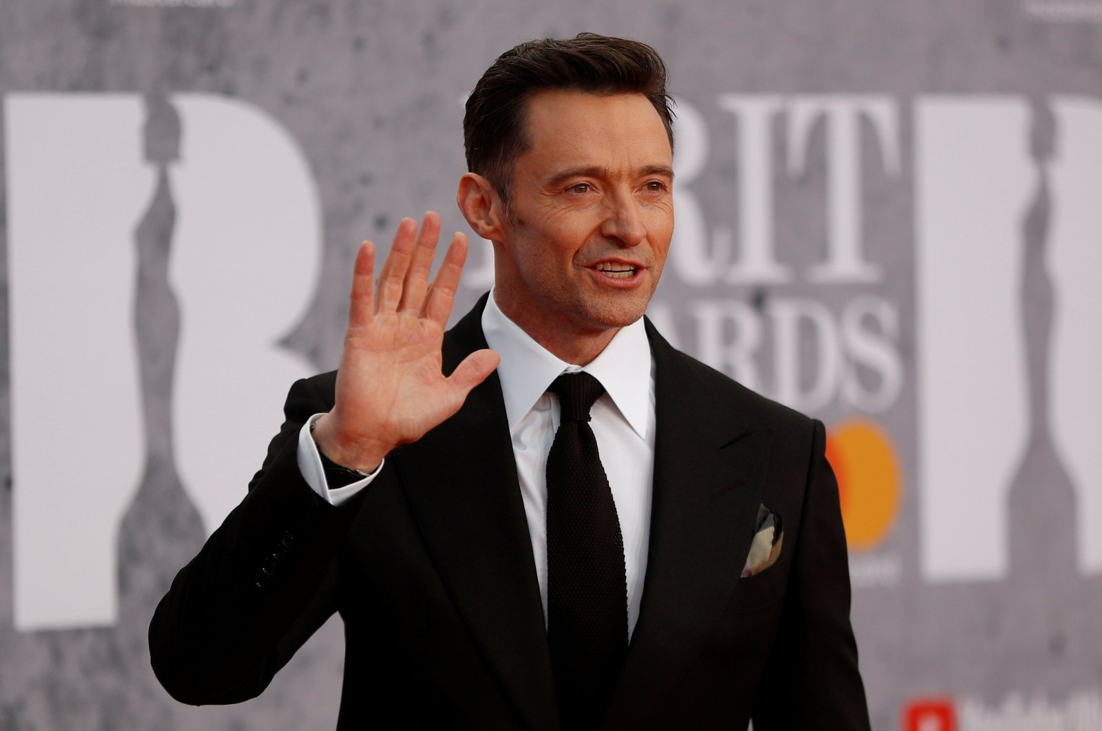 Hugh Jackman arrives for the Brit Awards at the O2 Arena in London, U.K., Feb. 20, 2019. (Reuters Photo)