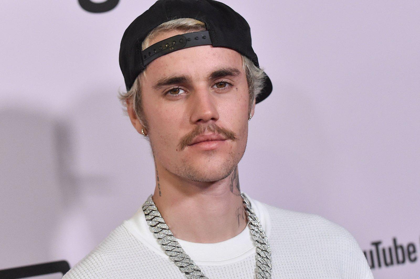 "Canadian singer Justin Bieber arrives for the premiere ofYouTube Originals' ""Justin Bieber: Seasons"" in Westwood, California, U.S., Jan. 27, 2020. (Shutterstock Photo)"
