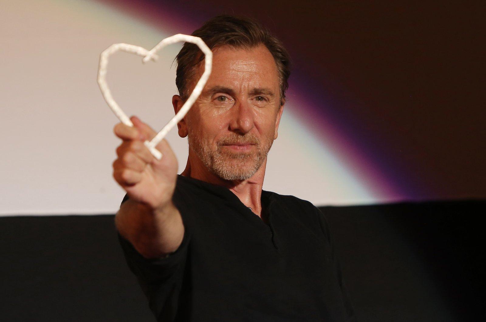 The Honorary Heart of Sarajevo presented to Tim Roth at the 25th Sarajevo Film Festival, Sarajevo, Bosnia-Herzegovina, Aug. 20, 2019. (Shutterstock Photo)