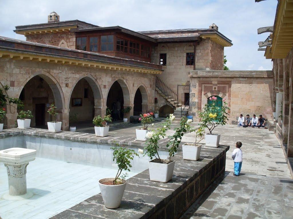 A view from the Haji Bektash Veli complex located in Hacı Bektaş district, Nevşehir province, central Turkey. (Sabah file Photo)