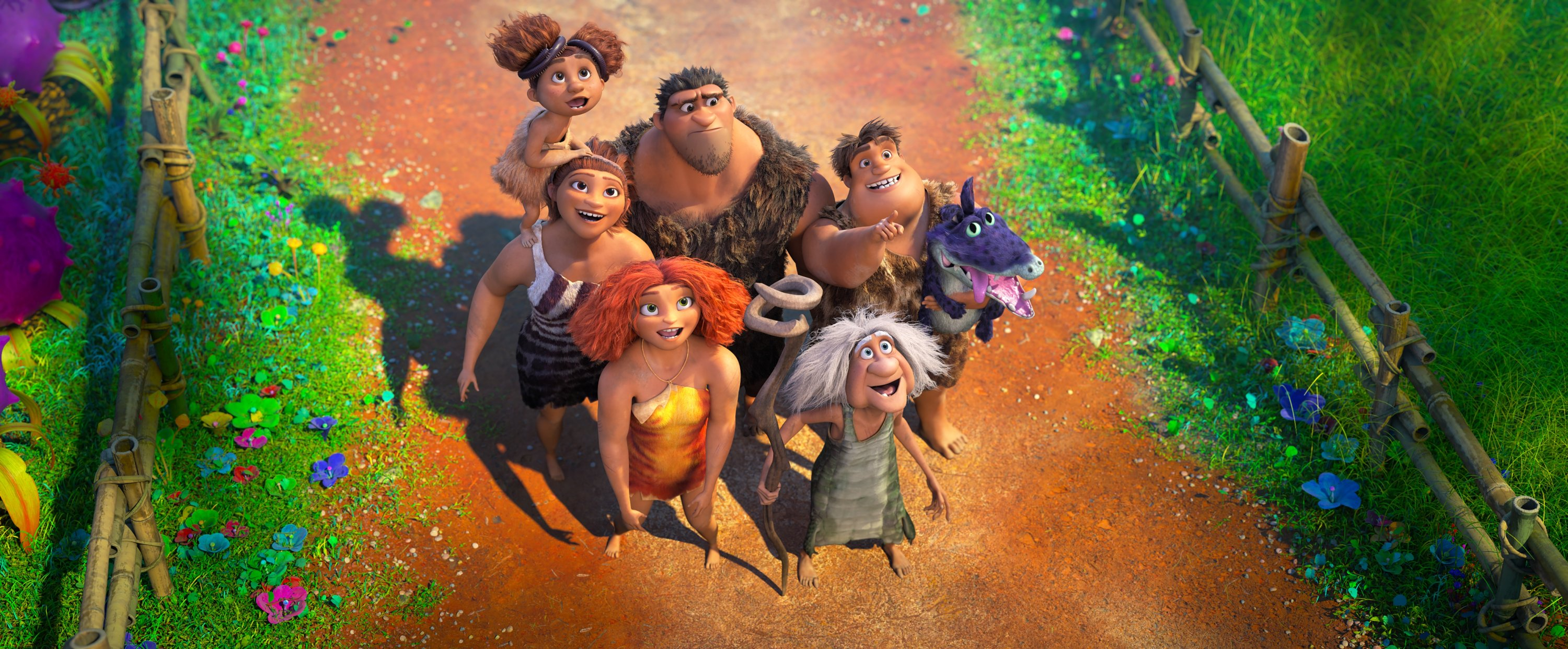 A still shot from 'Croods 2: A New Age.'
