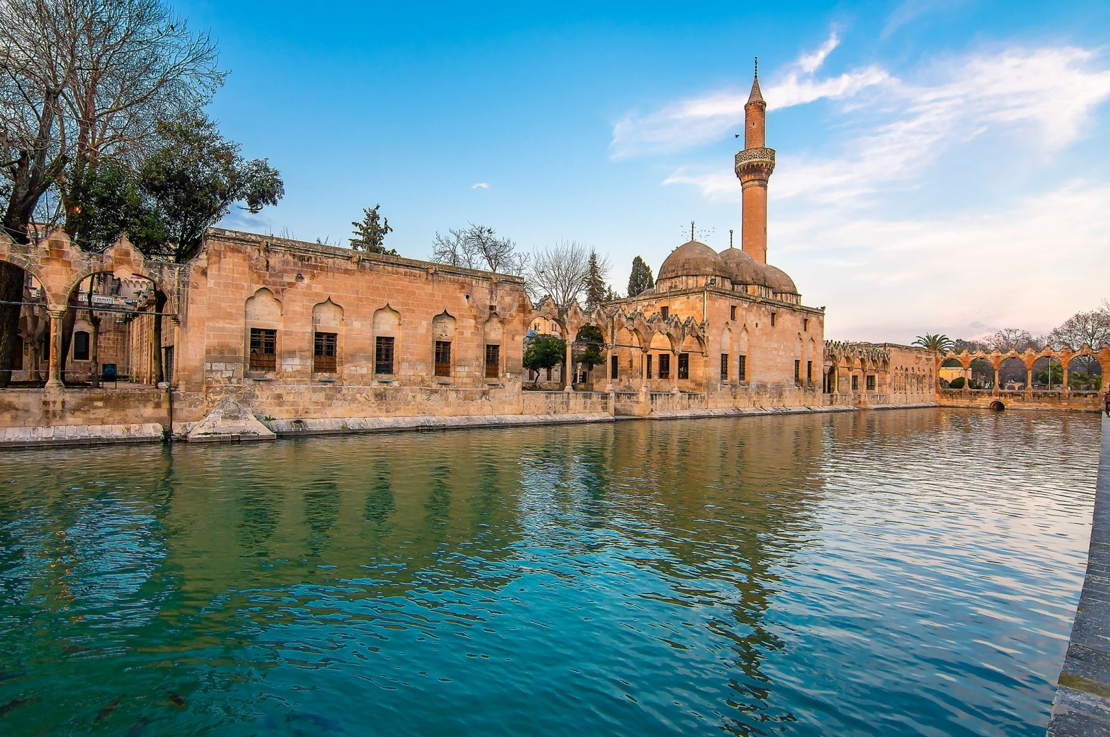 The Pool of Abraham (Balıklıgöl) in Şanlıurfa. (Shutterstock Photo)