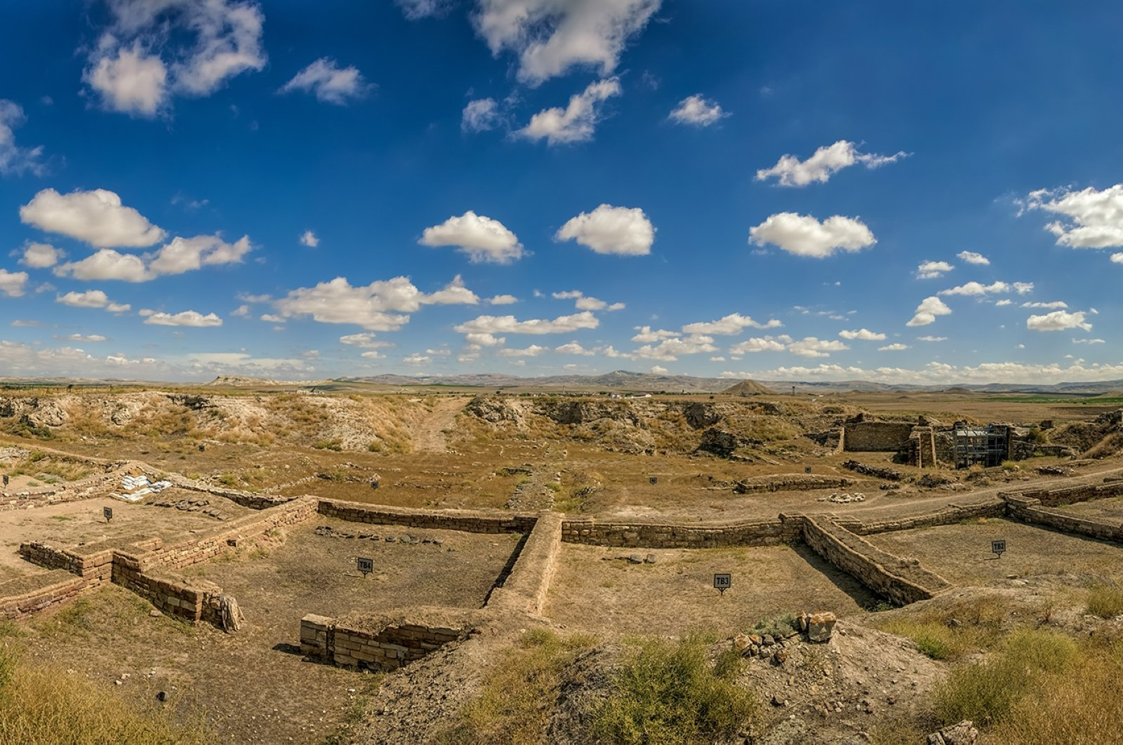 A panoramic view from the ancient city of Gordion, Ankara, Turkey. (Shutterstock Photo)