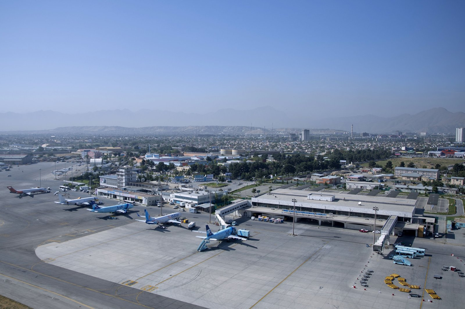 Hamid Karzai International Airport in Kabul, Afghanistan, July 25, 2015. (AP File Photo)