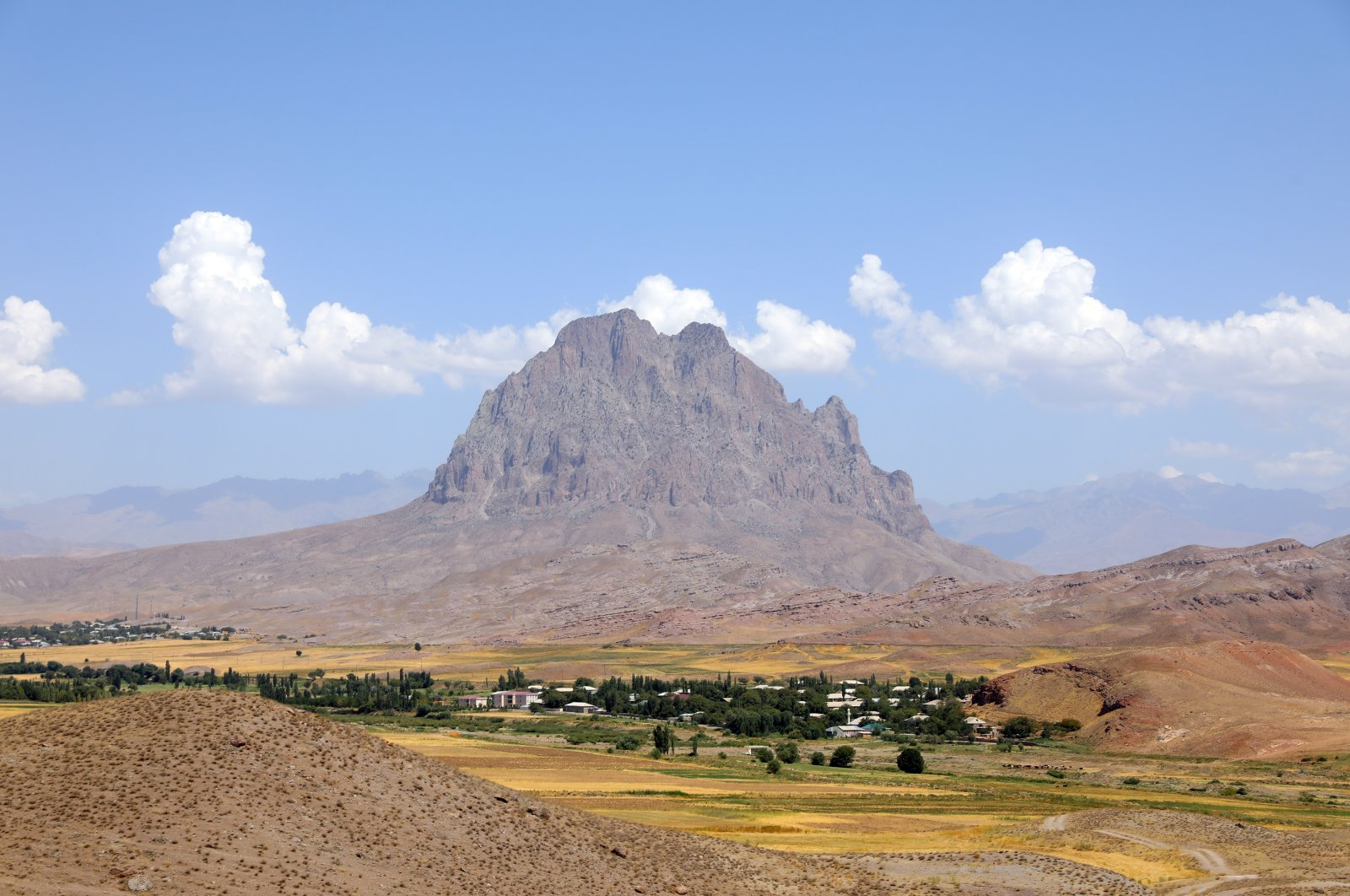 The Haçadağ mountain located in the Nakhchivan Autonomous Region, Azerbaijan, Aug. 15, 2021. (AA File Photo)