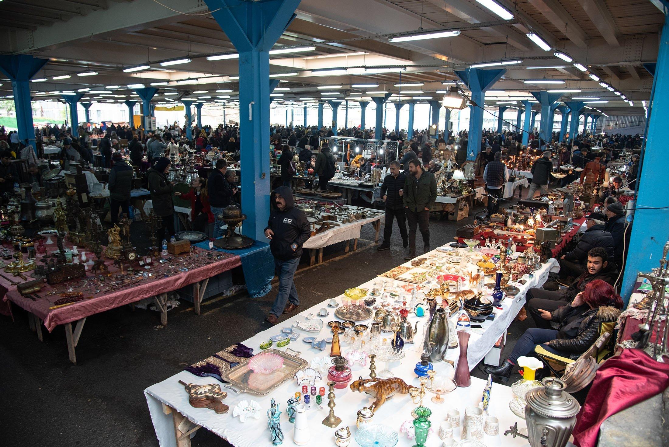 The Bomonti Antique Market. (Shutterstock Photo)