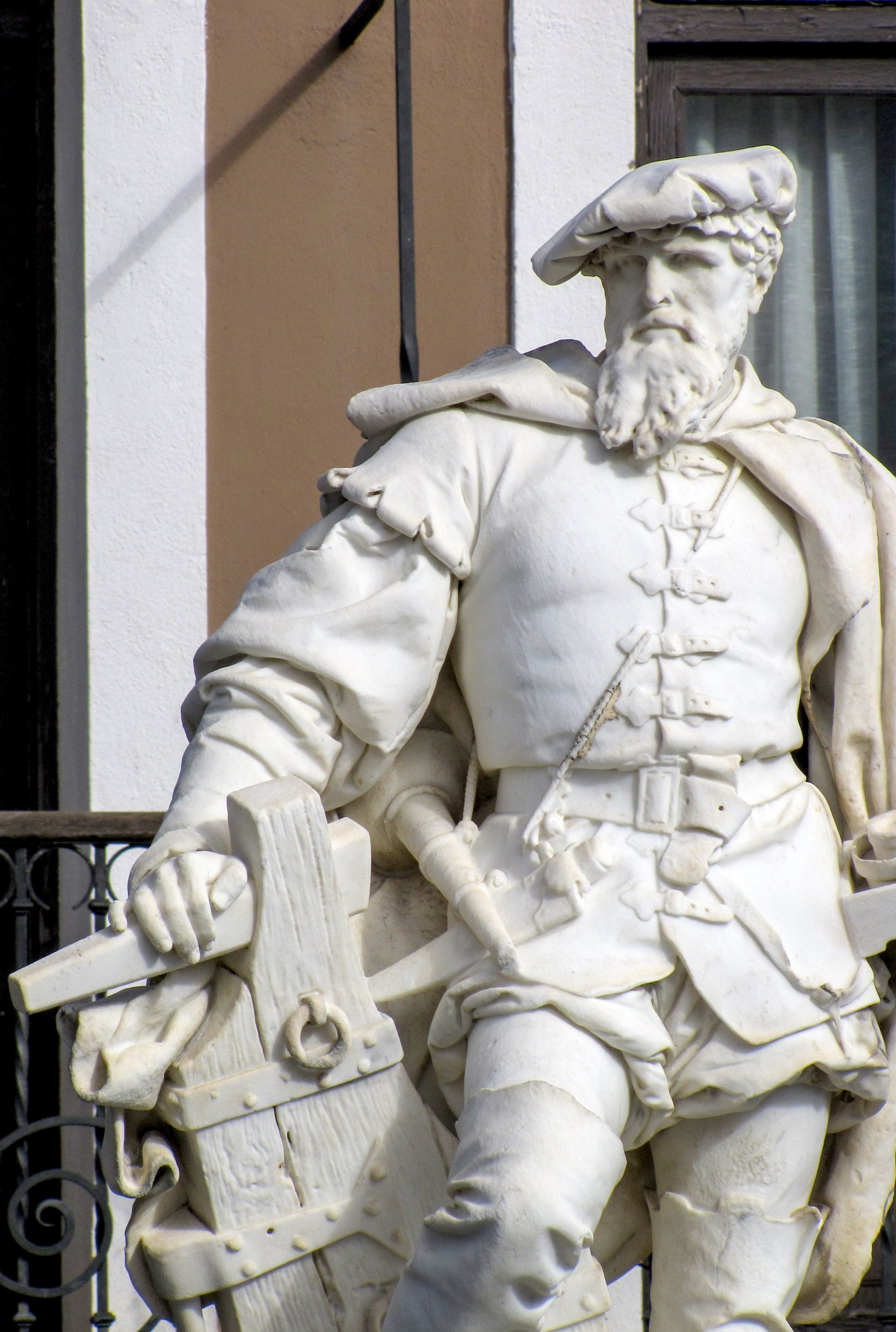 Getaria's most famous son was Juan Sebastian Elcano, the first person to circumnavigate the Earth. Look out for the monument dedicated to him here. (DPA Photo)