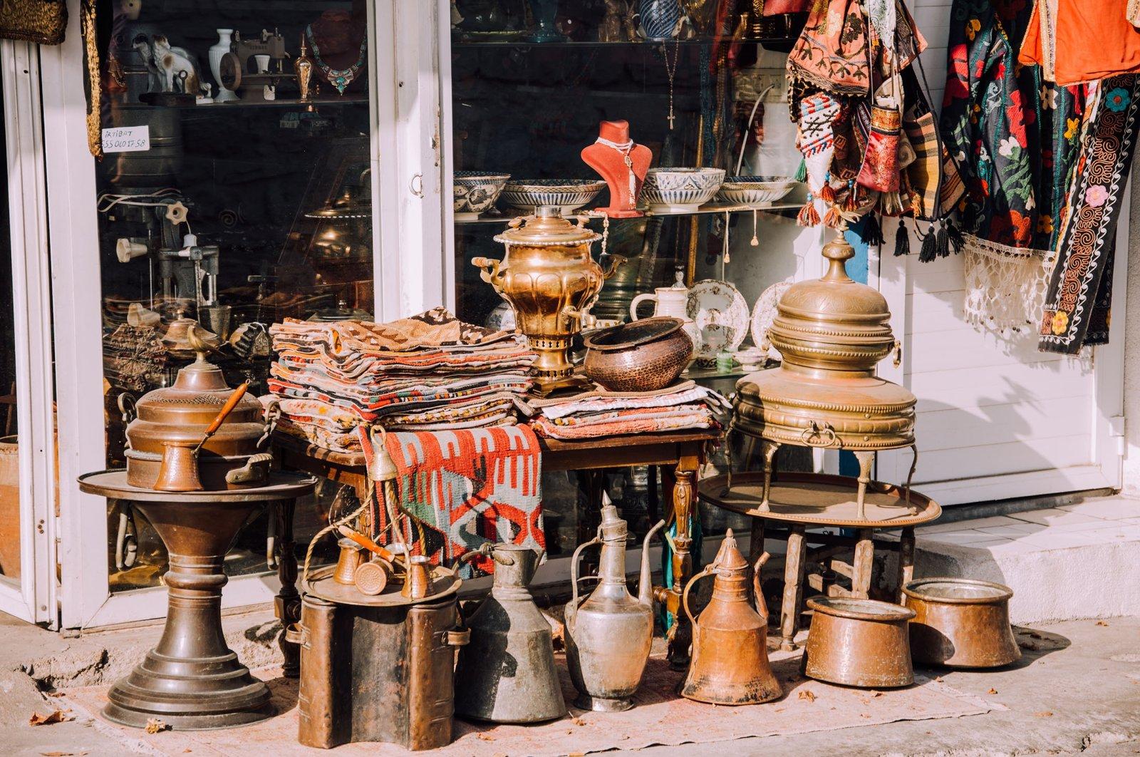 The Bodrum Antique Market. (Shutterstock Photo)
