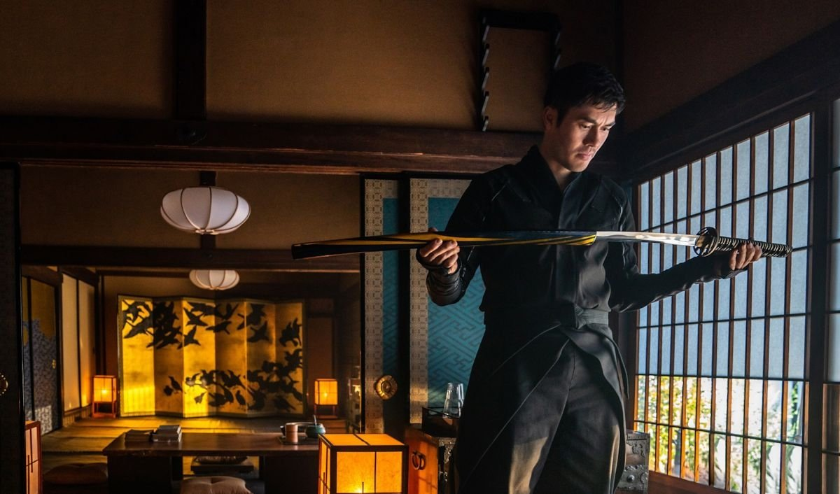 A still shot from 'Snake Eyes' shows lead actor Henry Golding in a scene.