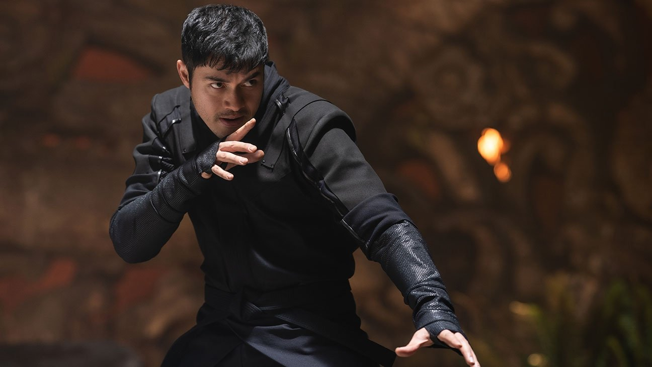 """A still shot from """"Snake Eyes"""" shows lead actor Henry Golding in a scene."""