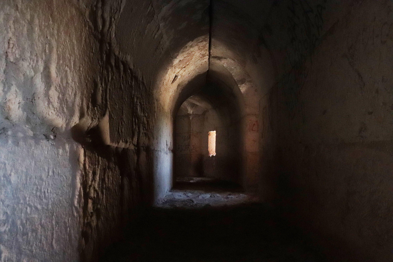 An interior view of Koz Castle, Hatay, southern Turkey, Aug. 17, 2021. (AA Photo)