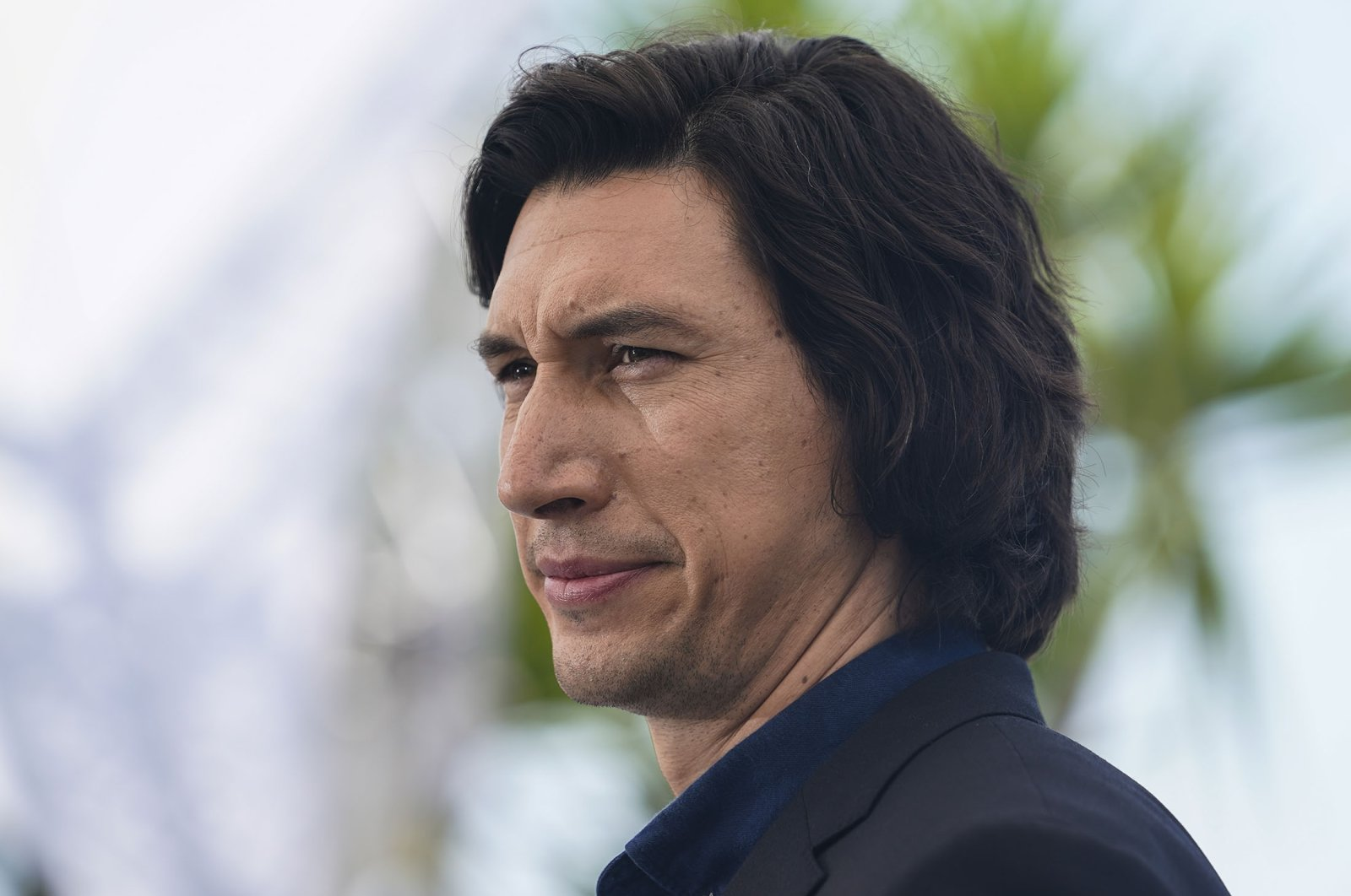 """Adam Driver poses for photographers at the photocall for the film """"Annette"""" at the 74th international film festival, Cannes, southern France, July 6, 2021. (AP Photo, File)"""