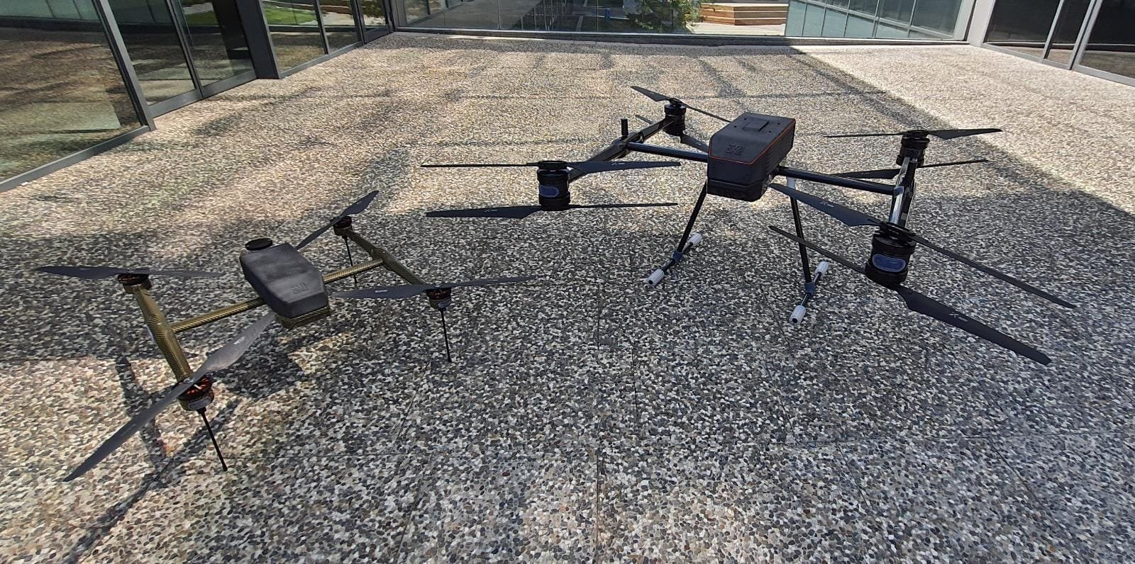 Drones produced by Turkish Zyrone Dynamics are seen in this photo provided on Aug. 16, 2021. (Zyrone Dynamics via AA)