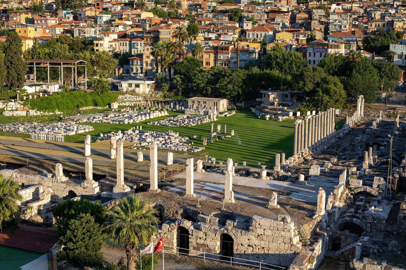 The Schumann Quartet will perform at Agora of Smyrna, alternatively known as the Agora of Izmir. (Shutterstock Photo)