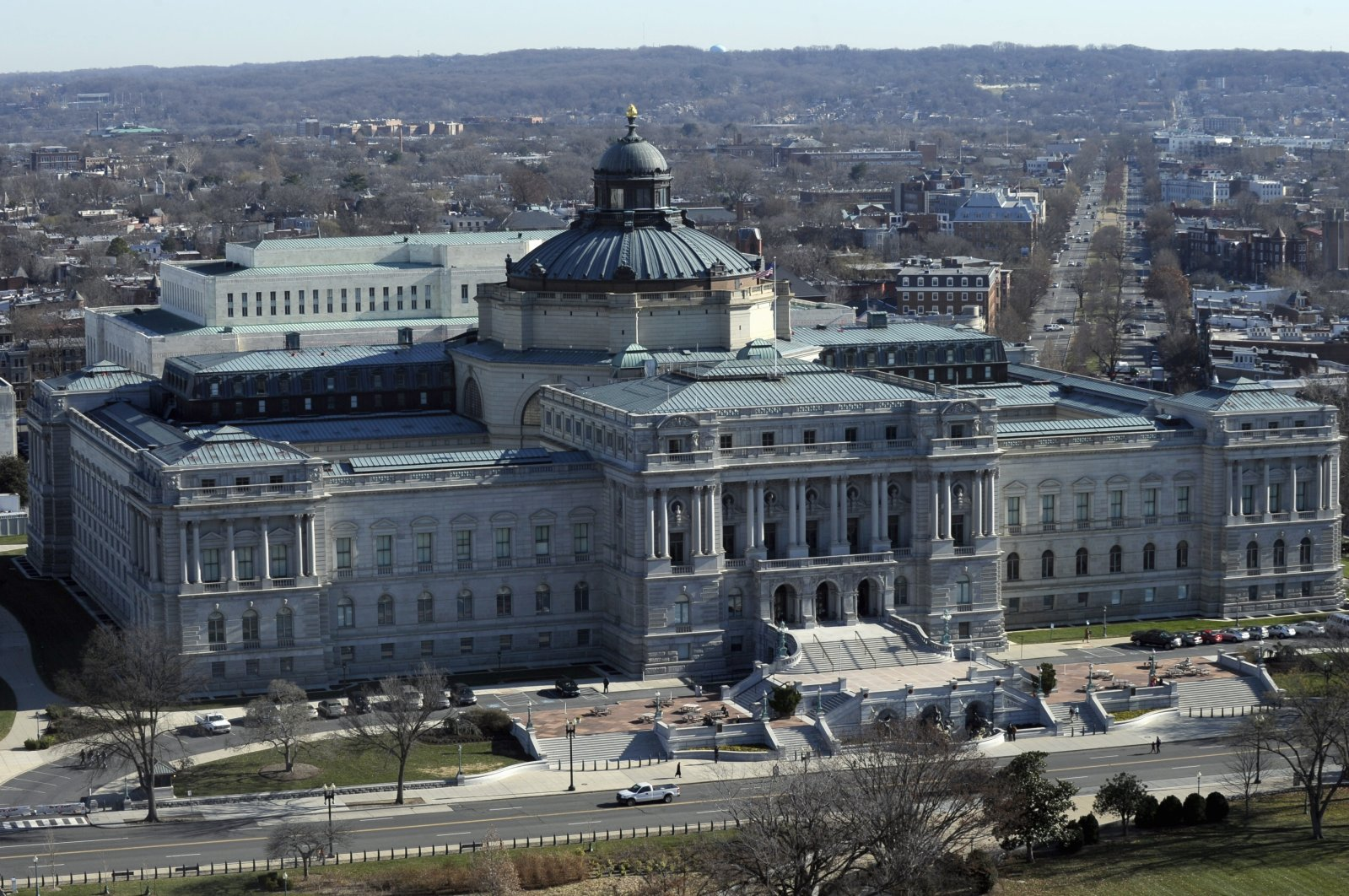 The Library of Congress is seen in Washington, D.C., U.S., Dec. 19, 2013. (AP Photo)
