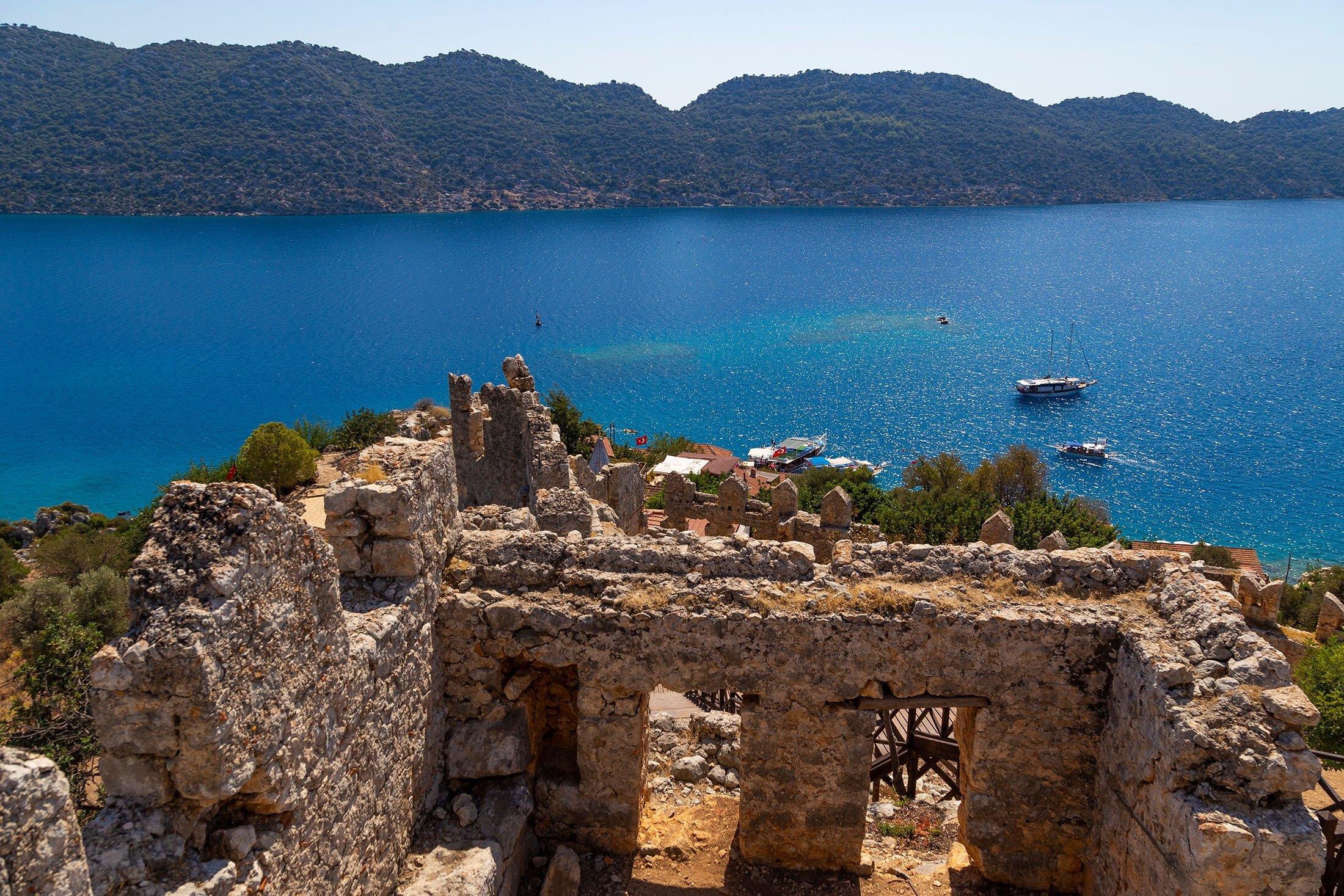 The Island of Kaleköy. (Shutterstock Photo)