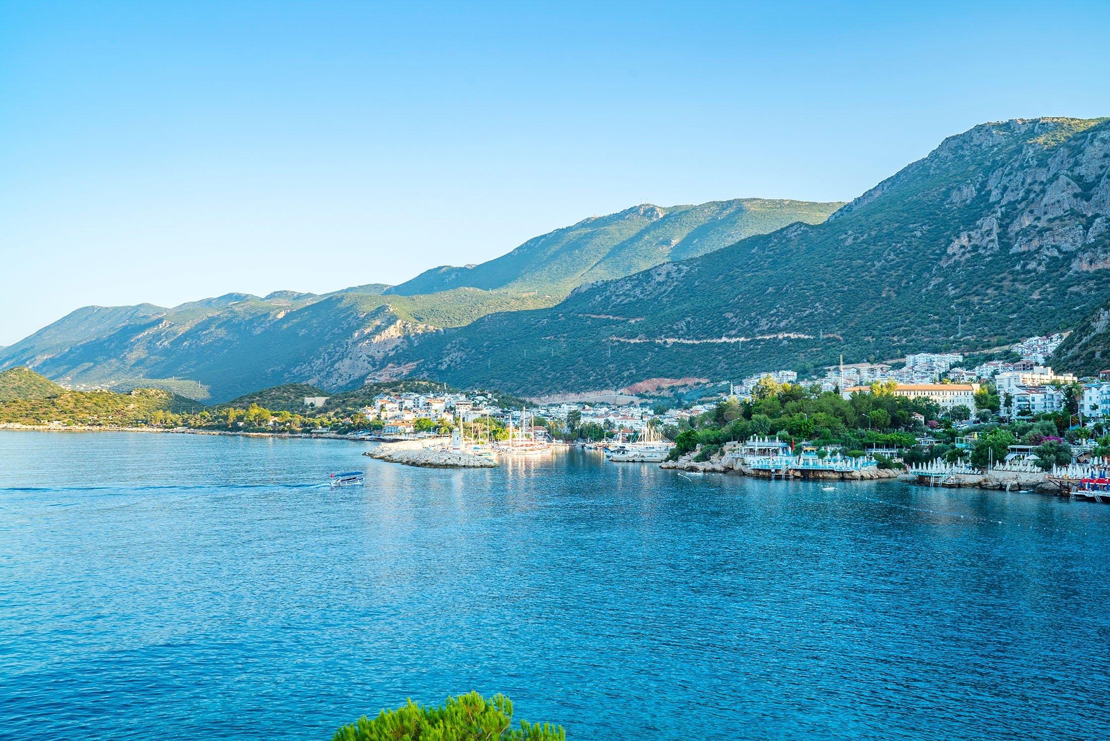 The resort town of Kaş in Turkey. (Shutterstock Photo)