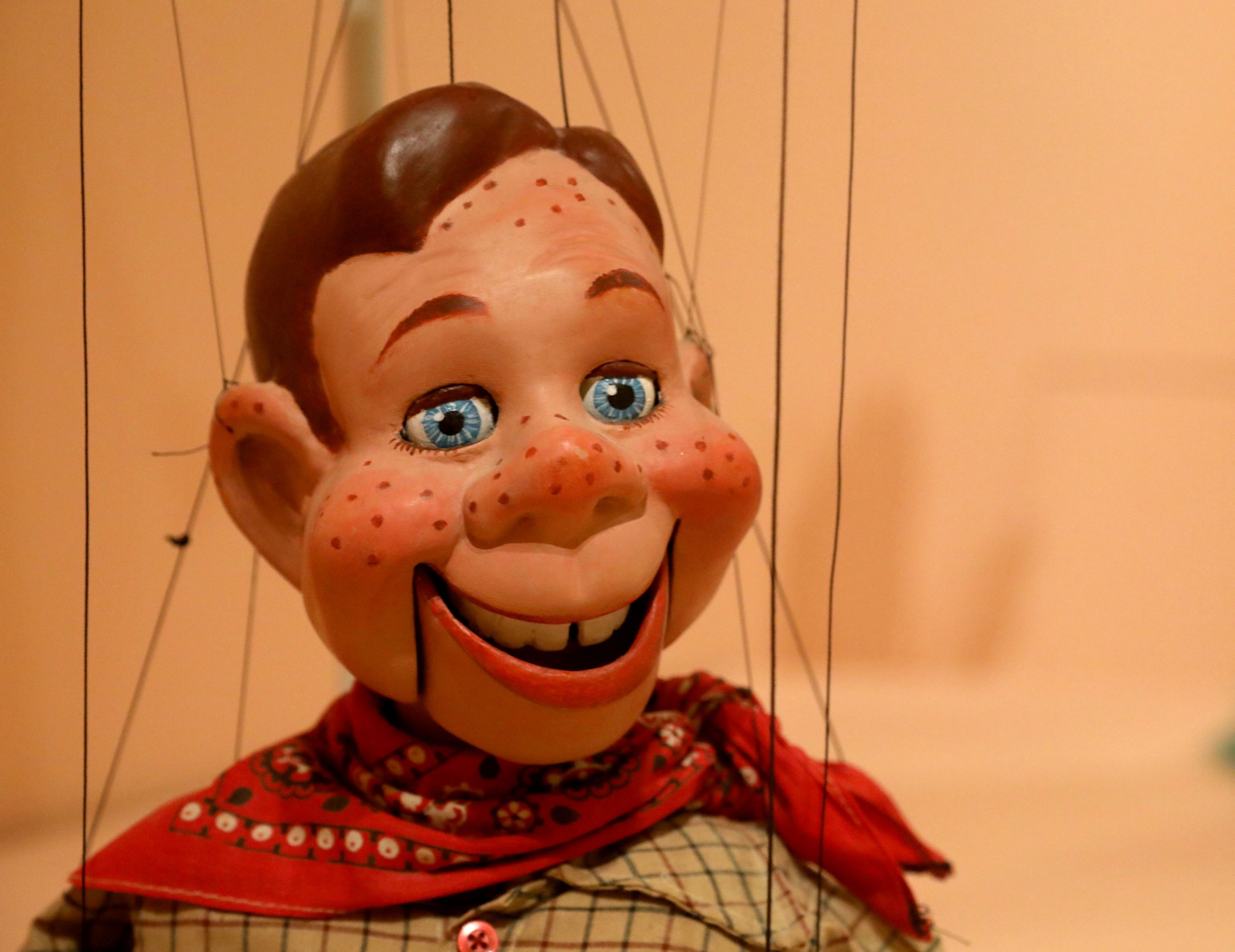 The Howdy Doody puppet is among those at the Puppets of New York show at The Museum of City of New York, New York, U.S. (DPA Photo)