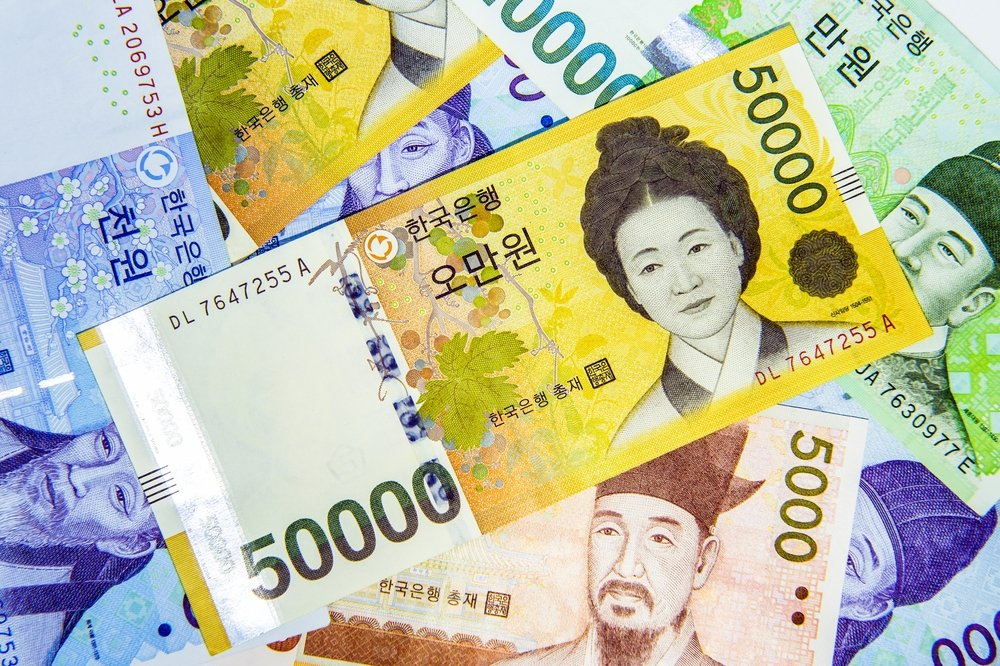 The South Korean won has been added to the foreign currencies traded by the Central Bank of the Republic of Turkey (CBRT). (Shutterstock Photo)