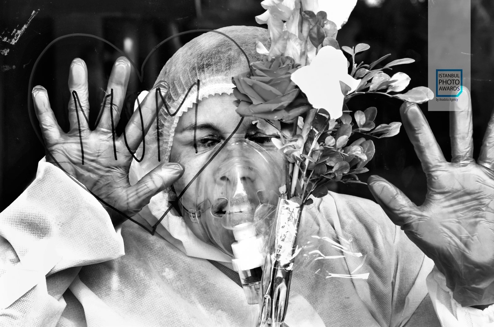 """Mom Love"" by Bangladeshi photojournalist Mohammed Shajahan won the Photo of the Year Award. (AA Photo)"