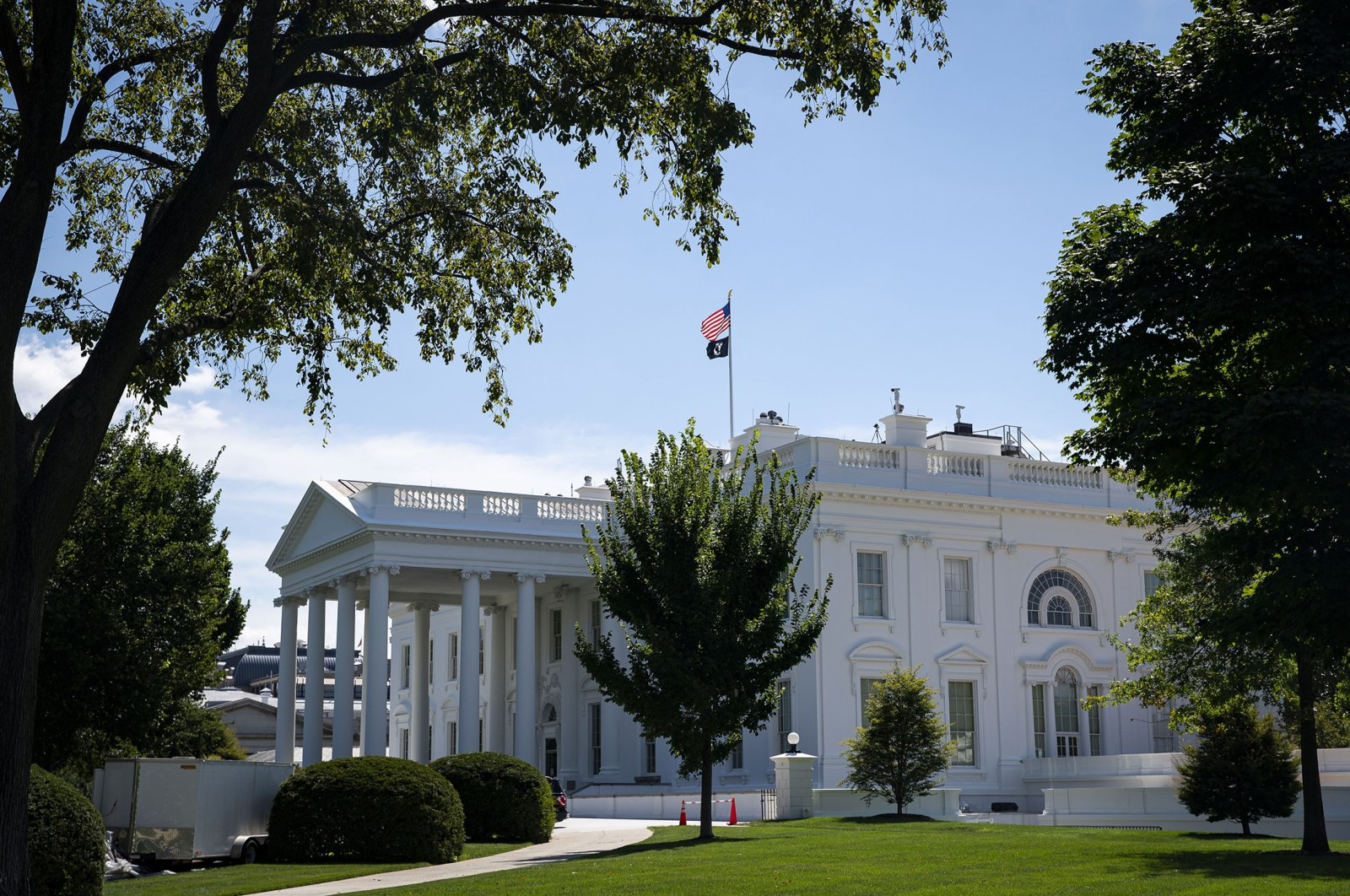 The White House in Washington, D.C., U.S., Aug. 19, 2021. (Getty Images Photo)
