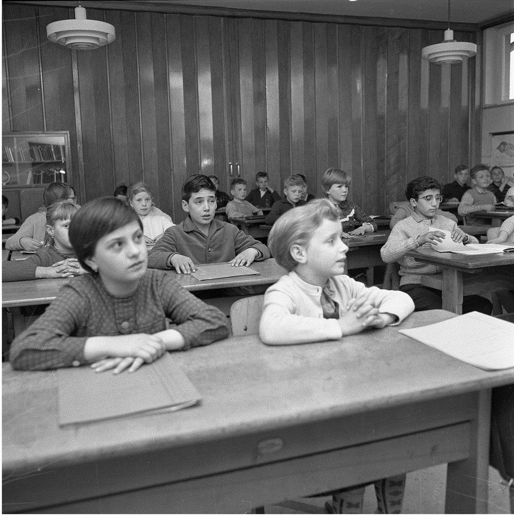 'Italian guest worker children in Walsum', 1962. (Photo courtesy of Ludwig Wegmann)