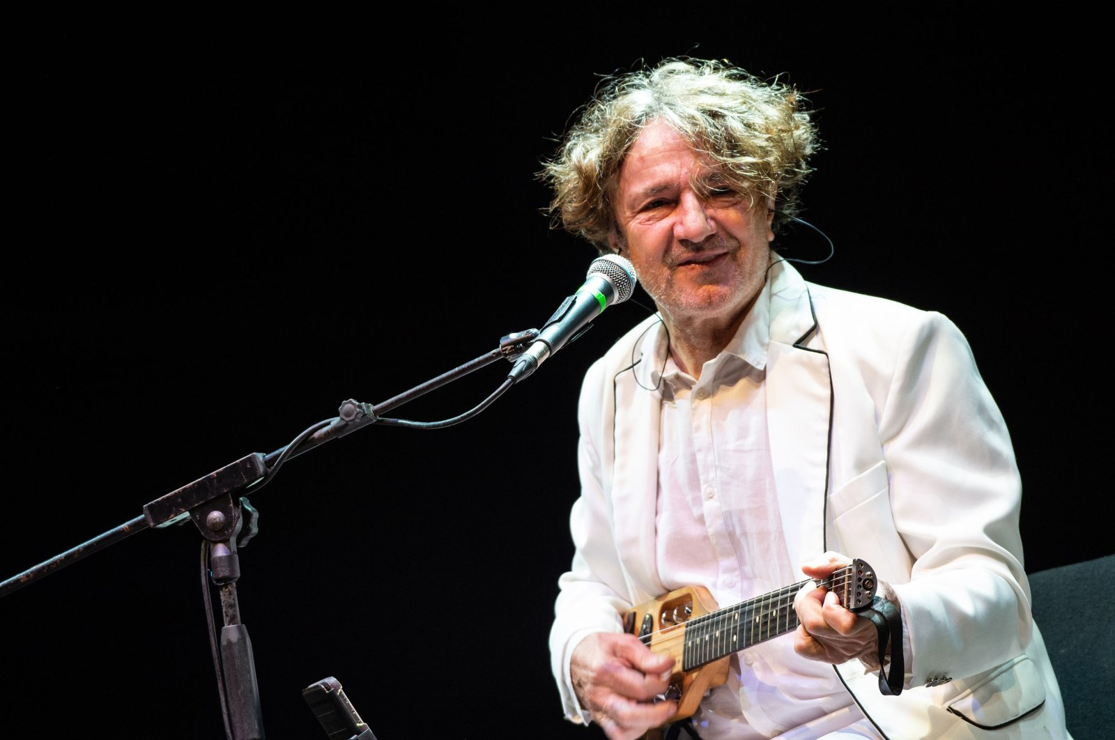 Goran Bregovic and The Wedding & Funeral Band perform at the Polla Folk Fest, Polla, Italy, June 16, 2019. (Getty Images)