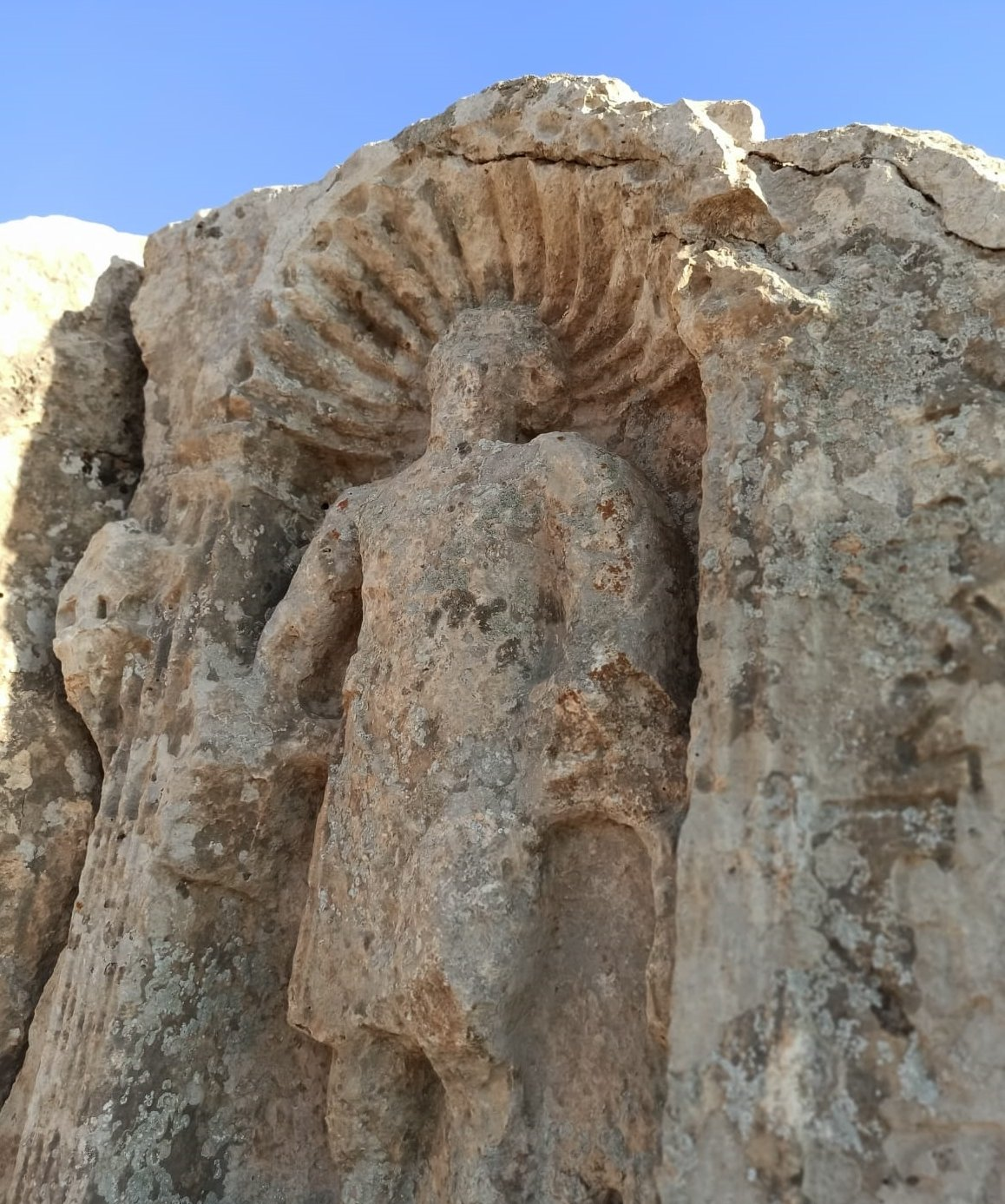 Some archaeological remains from the ancient city of Soğmatar, Şanlıurfa, southeastern Turkey, Aug. 24, 2021. (AA Photo)