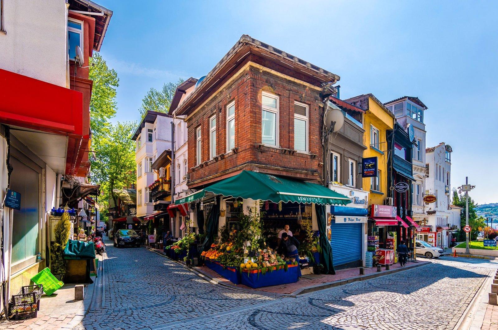 A view of Arnavutköy street in Istanbul, Turkey. (Shutterstock Photo)