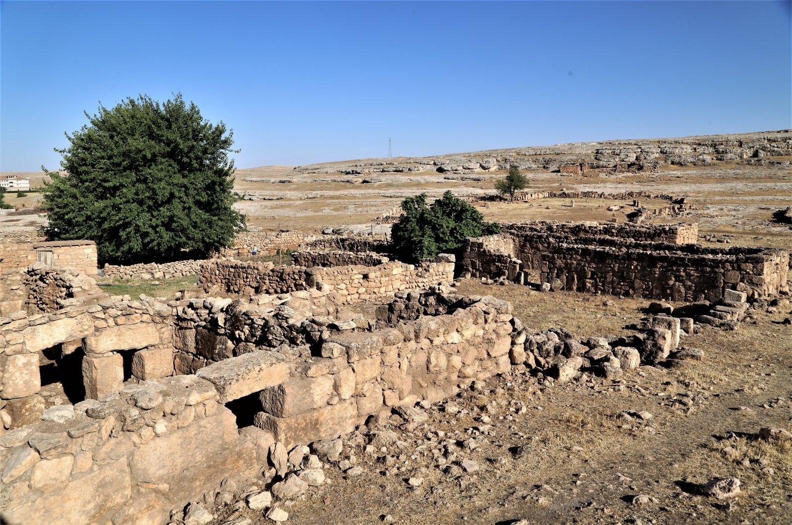 A general view from the ancient city of Soğmatar, Şanlıurfa, southeastern Turkey, Aug. 24, 2021. (AA Photo)