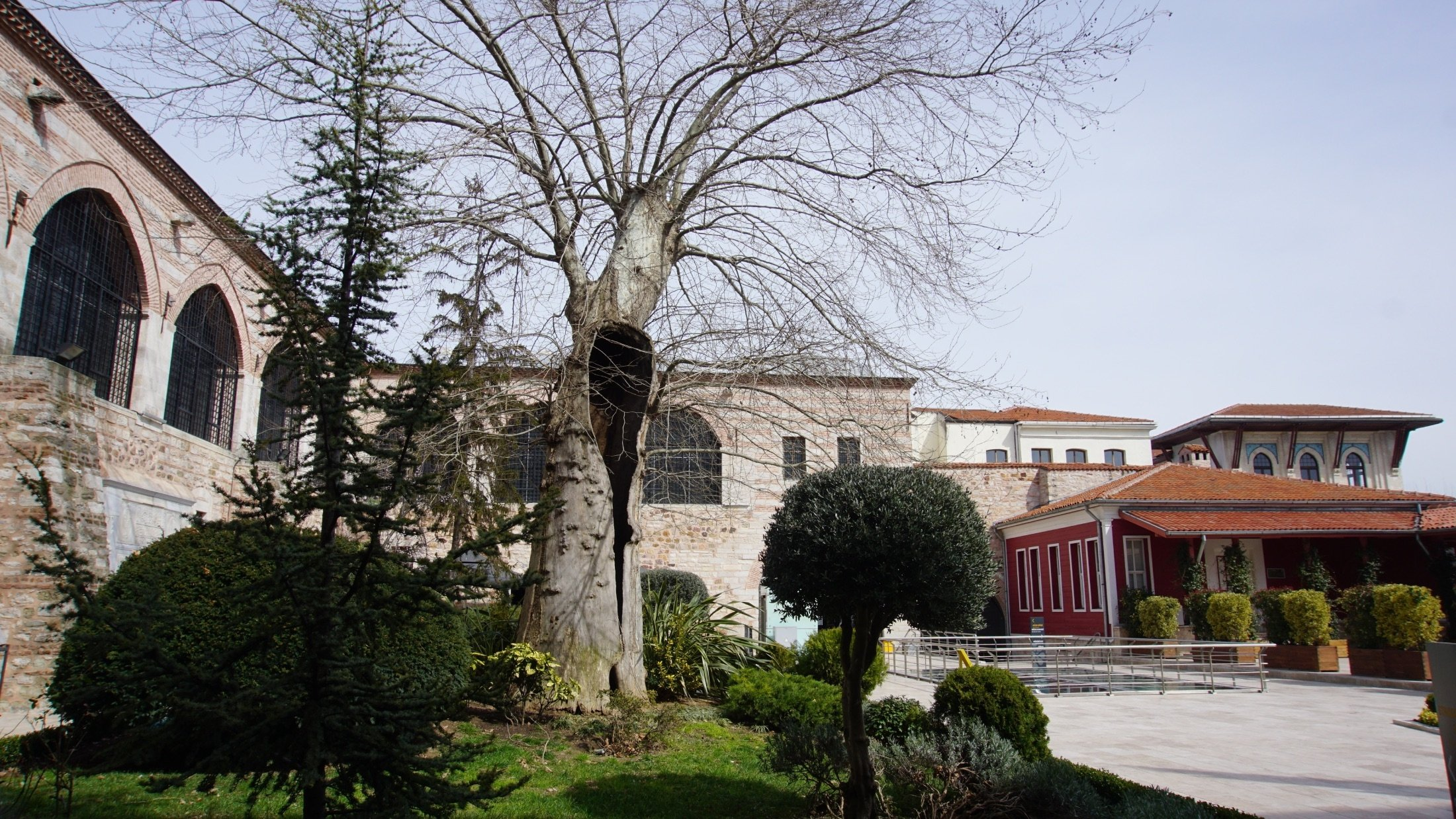 The courtyard of the Museum of Turkish and Islamic Arts. (Photo by Murat Tarık)