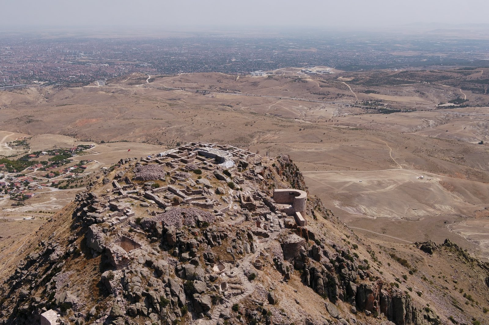 Gevale Castle carries traces of the long-lost Hellenistic, Roman, Byzantine, Seljuk and Ottoman eras. (AA Photo)