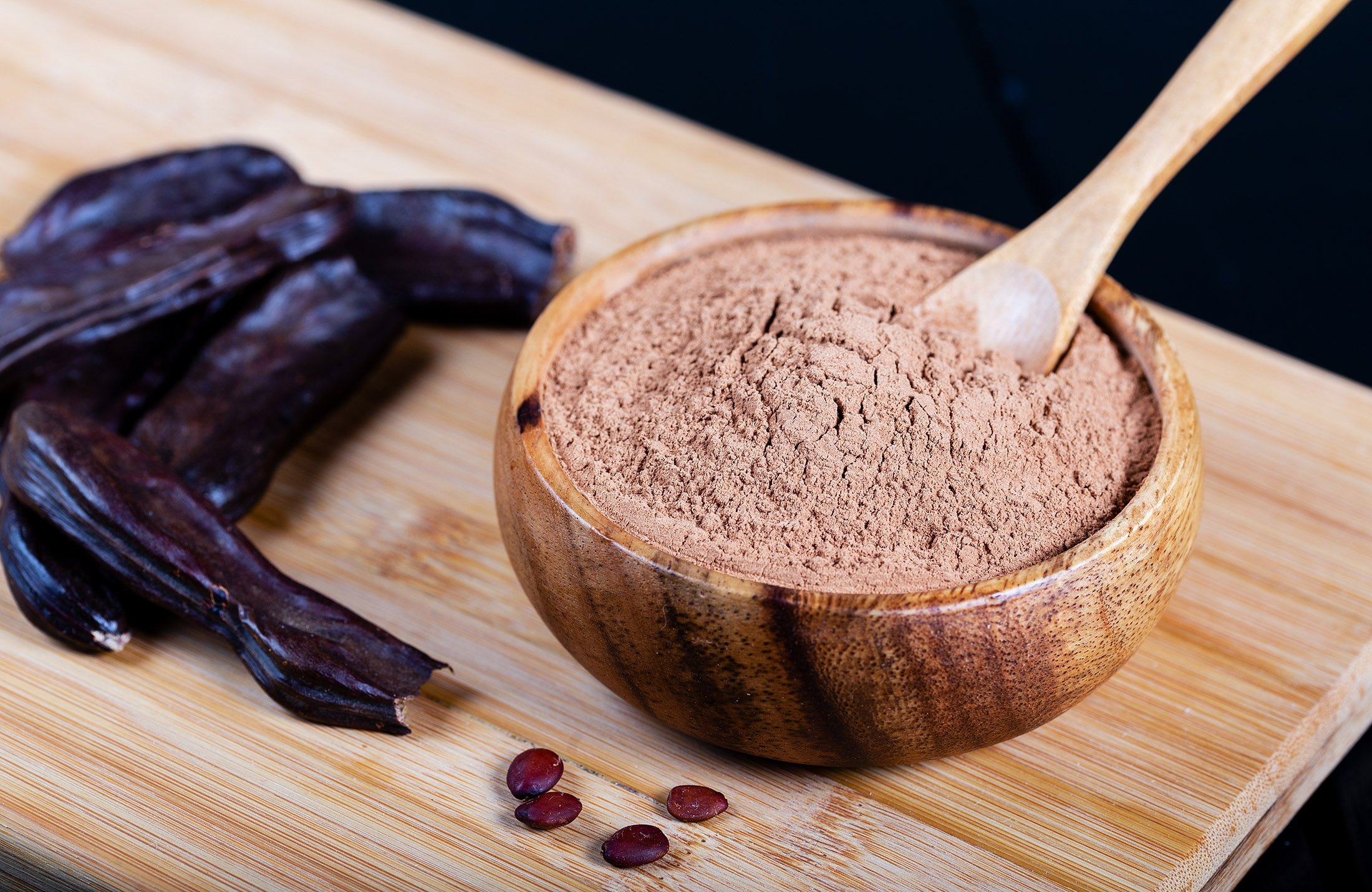 The carob bean. (Shutterstock Photo)
