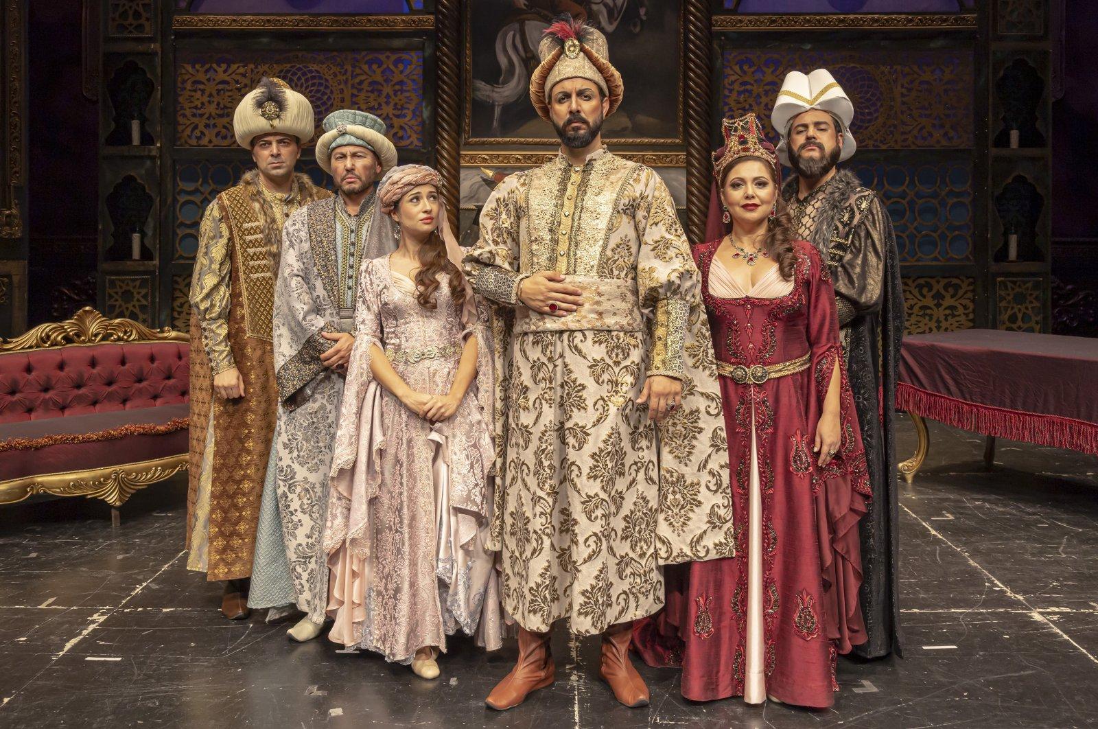 "The International Aspendos Opera and Ballet Festival will kick off with the ""Murat IV"" opera on Sept. 4. (IHA Photo)"