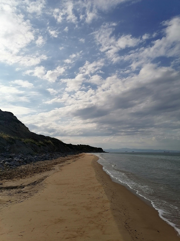 Ayazma beach. (Aiza Azam for Daily Sabah)