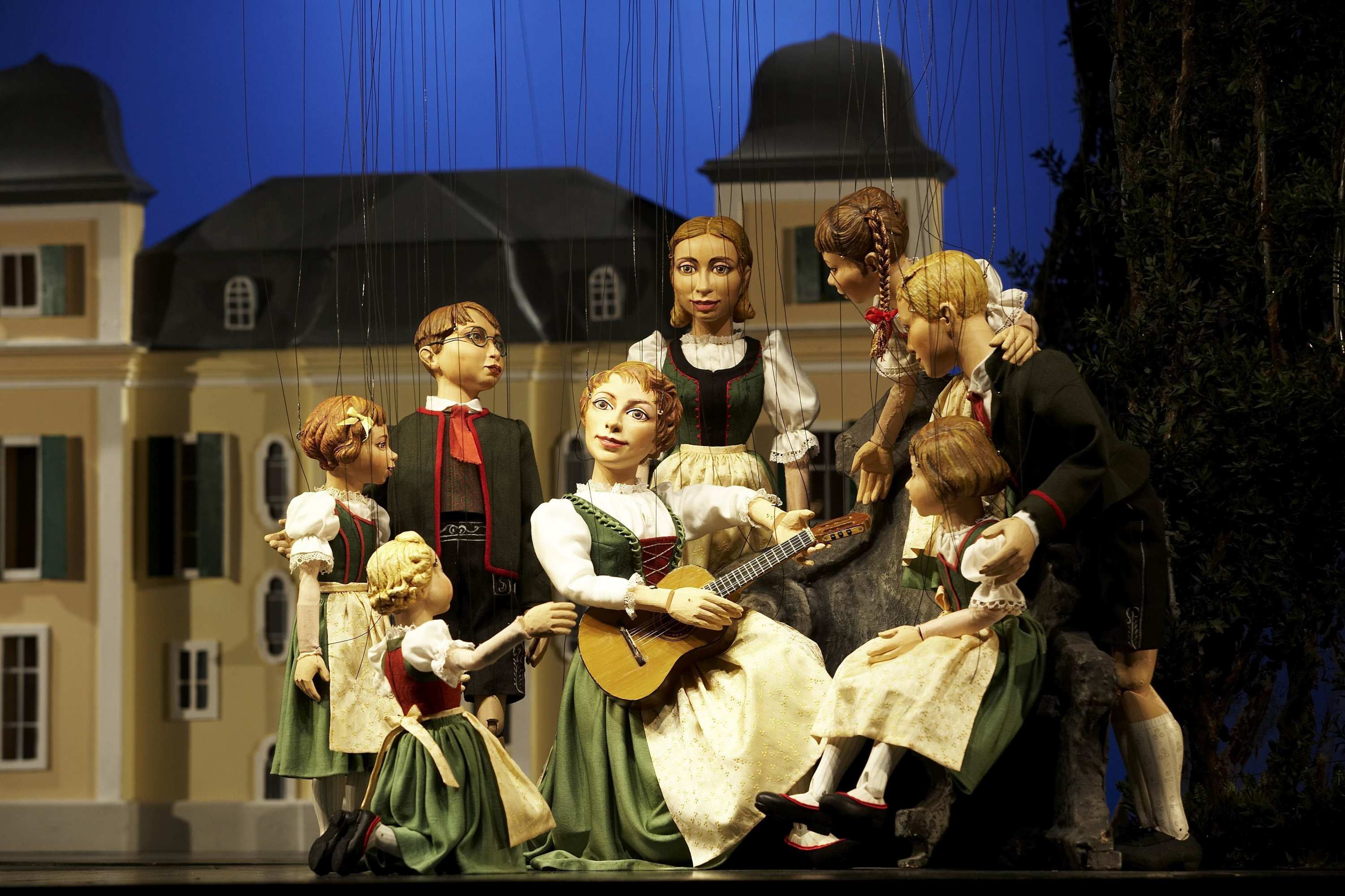 The Salzburg Marionette Theatre is a classic since 1913, and not only for families with children. (Tourismus Salzburg GmbH/dpa Photo)