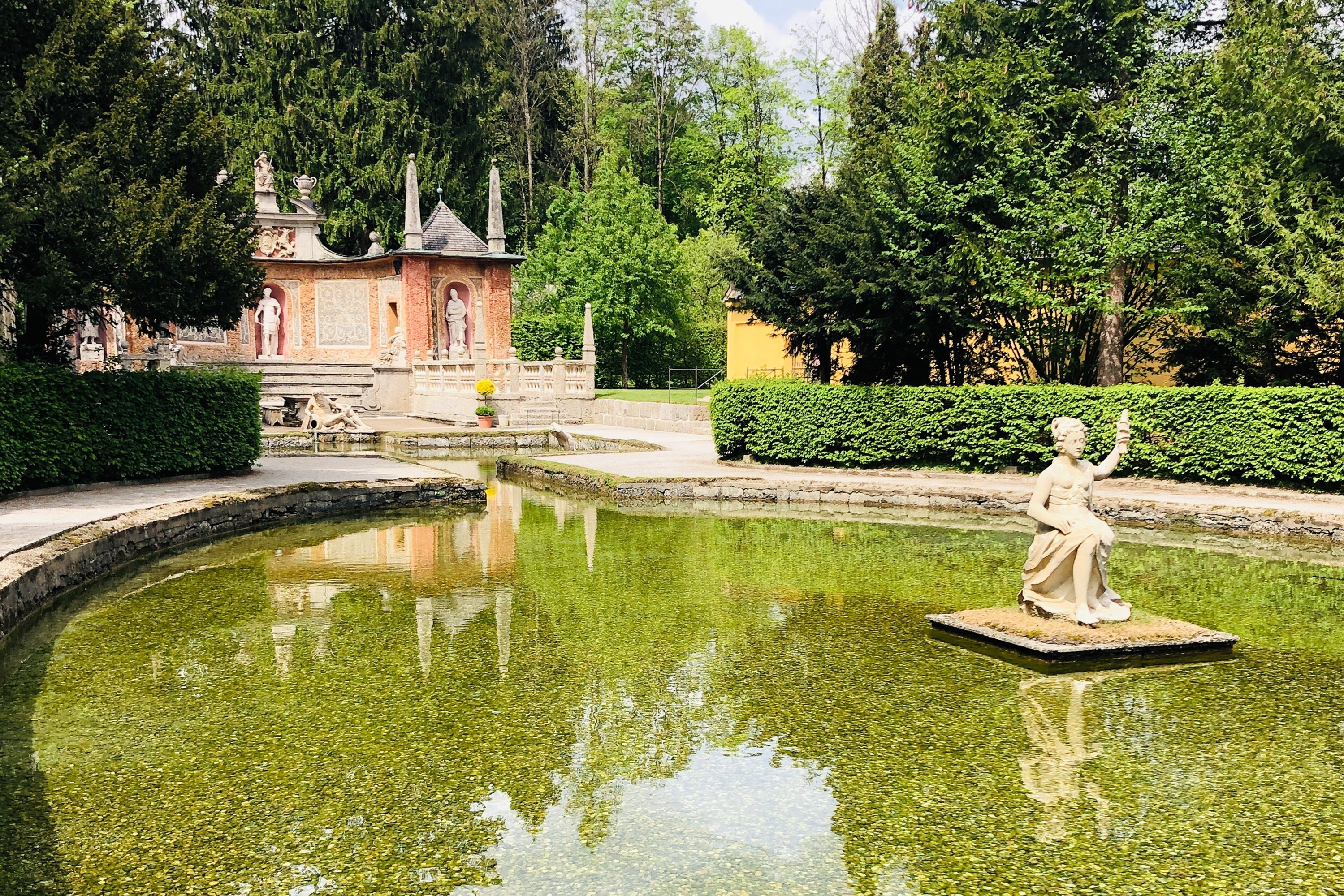 Hellbrunn Palace is home to several impressive Renaissance water features. (Photo by Catherine Waibel via dpa)