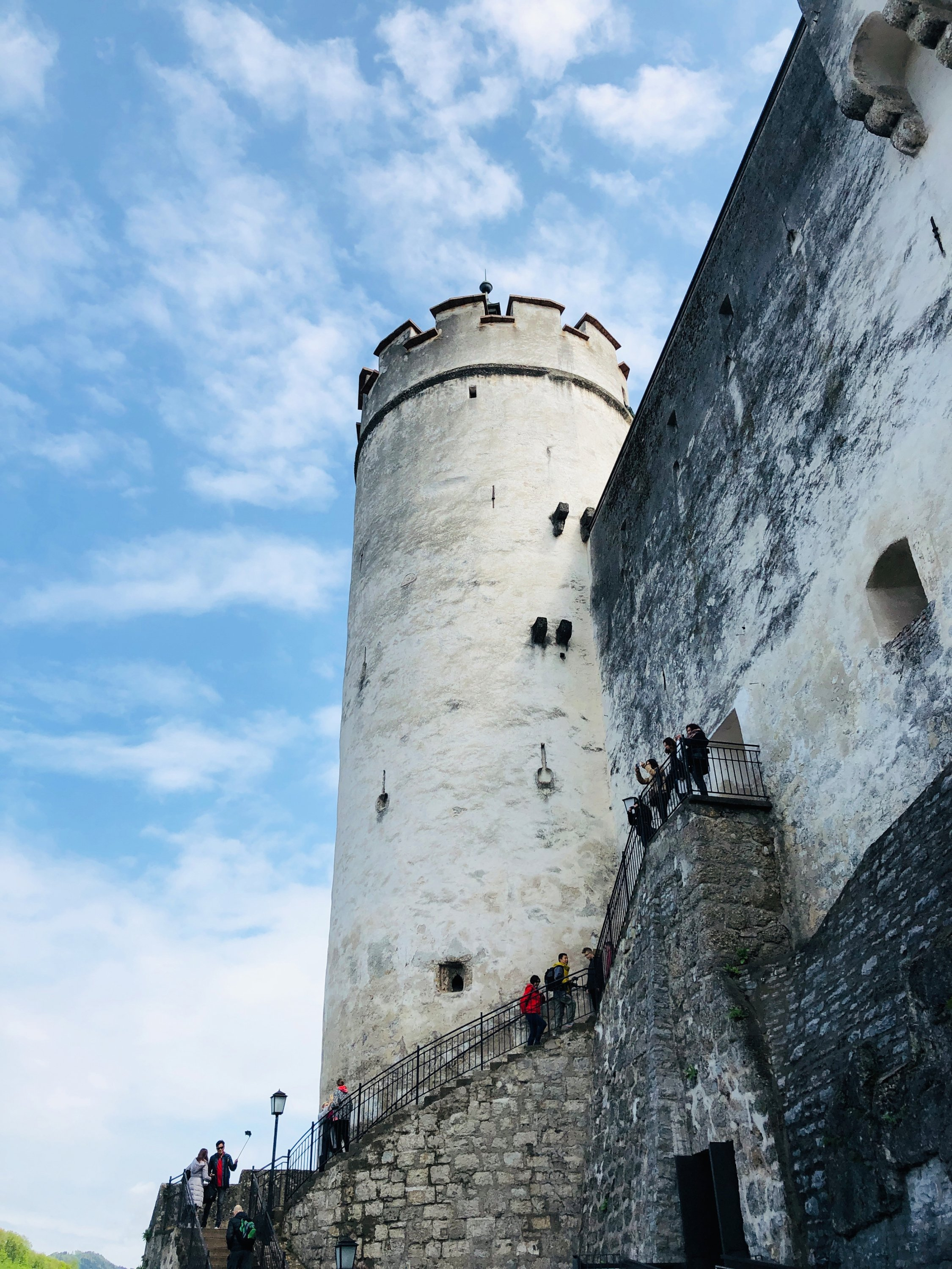 The Hohensalzburg Fortress has towered above Salzburg since 1077. (Photo by Catherine Waibel via dpa)