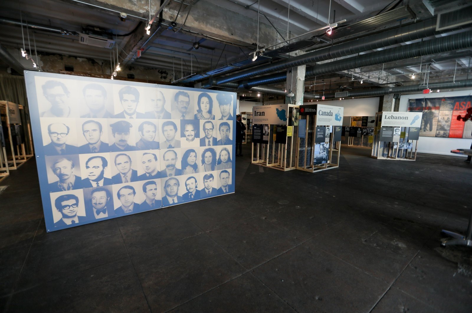 Turkey's Directorate of Communications has opened an exhibition in the United States' capital in memory of Turkish diplomats killed by Armenian terrorists, Washington, D.C., U.S., May 18, 2021. (AA Photo)