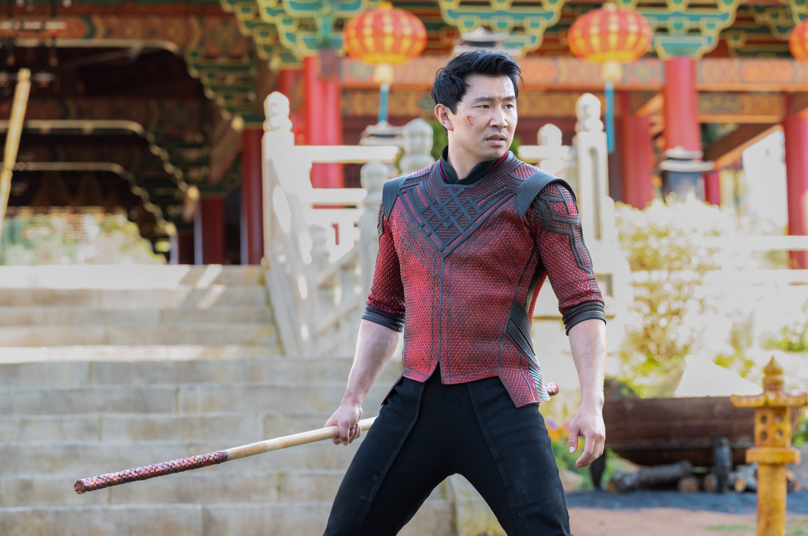"""Simu Liu stars as the hero in """"Shang-Chi and the Legend of the Ten Rings."""" (DPA Photo)"""