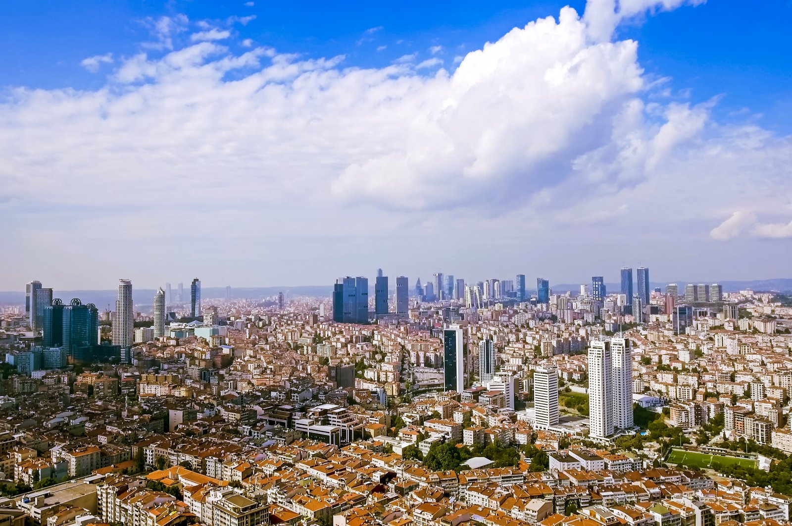 Skyscrapers and buildings are seen in Istanbul, Turkey, Aug. 6, 2017. (iStock Photo)