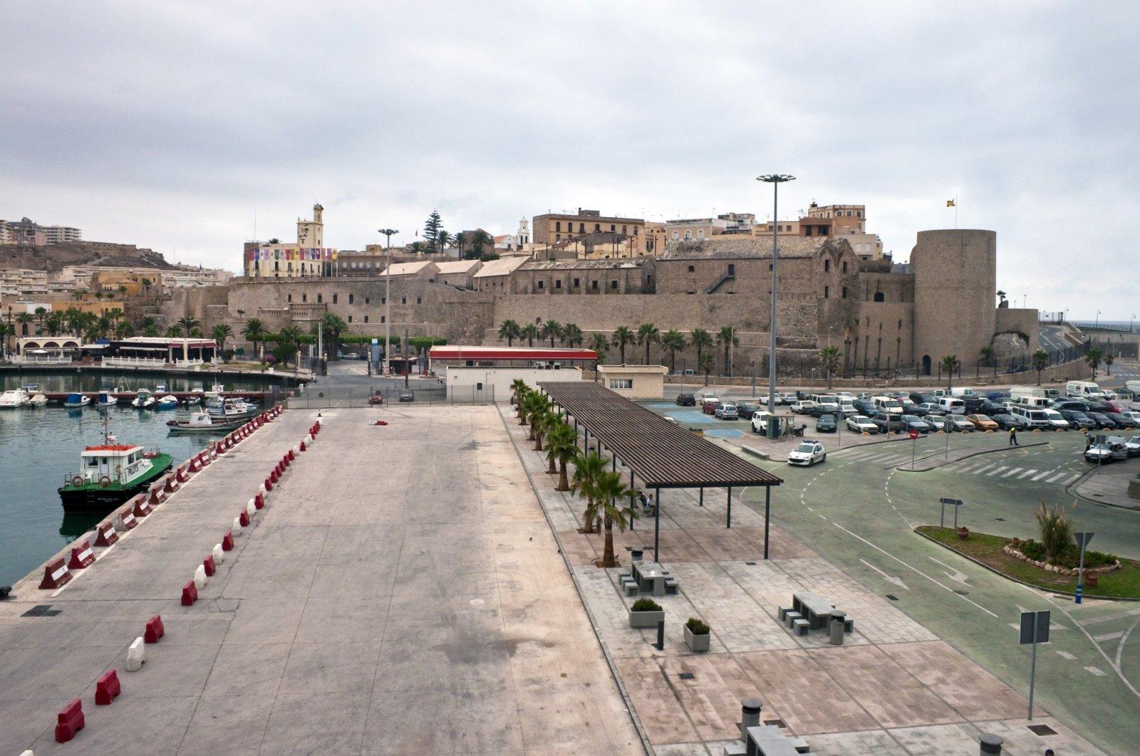 Harbor and castle in Melilla. (Shutterstock File Photo)