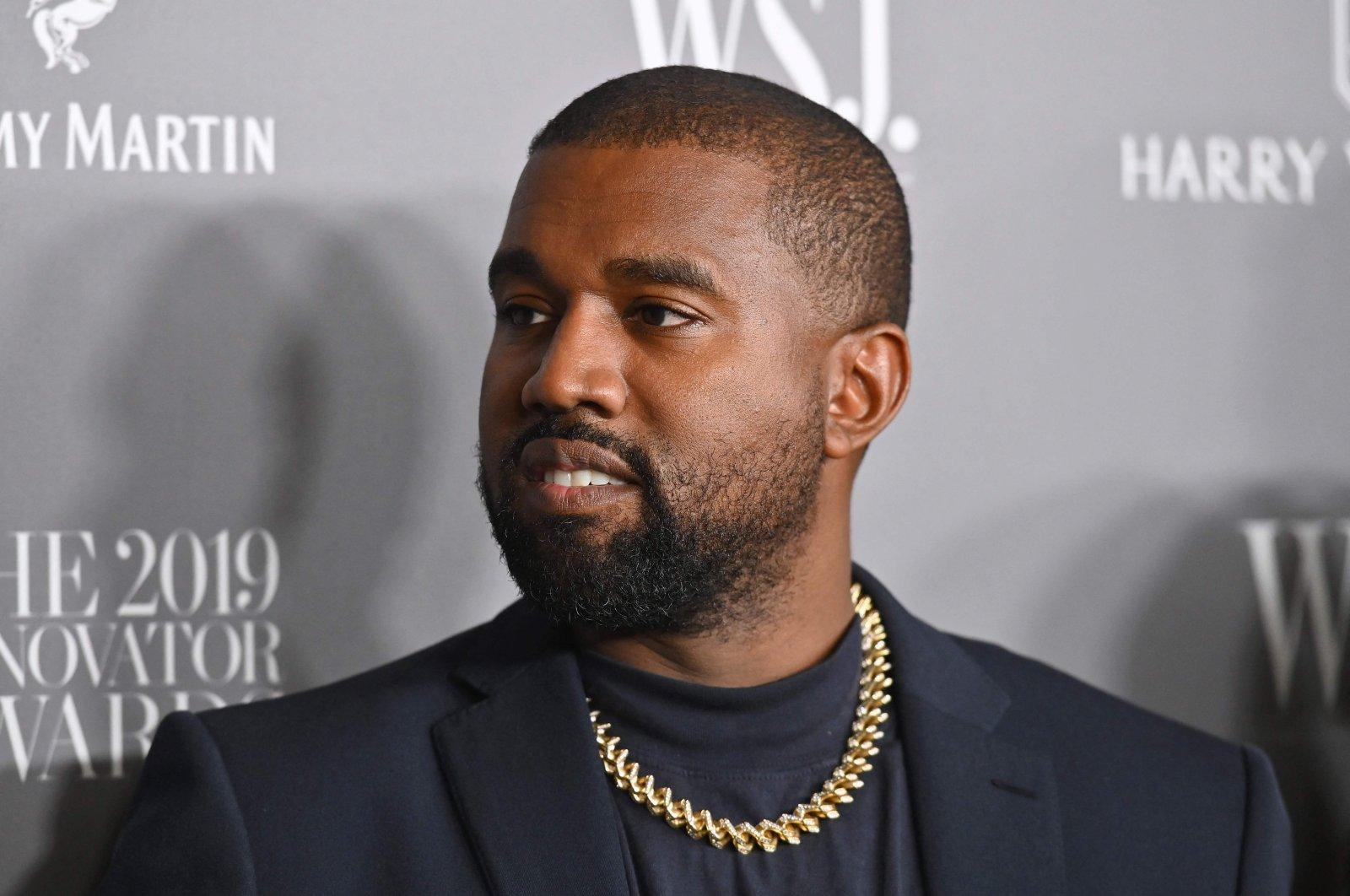 U.S. rapper Kanye West attends the WSJ Magazine 2019 Innovator Awards at MOMA on Nov. 6, 2019 in New York City. (AFP)