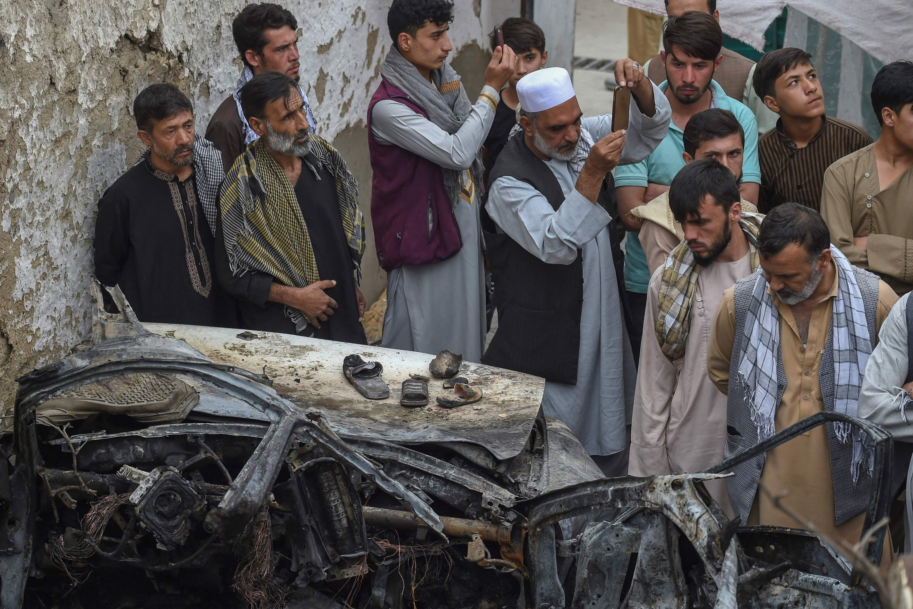 Afghan family mourns children killed in US drone strike | Daily Sabah
