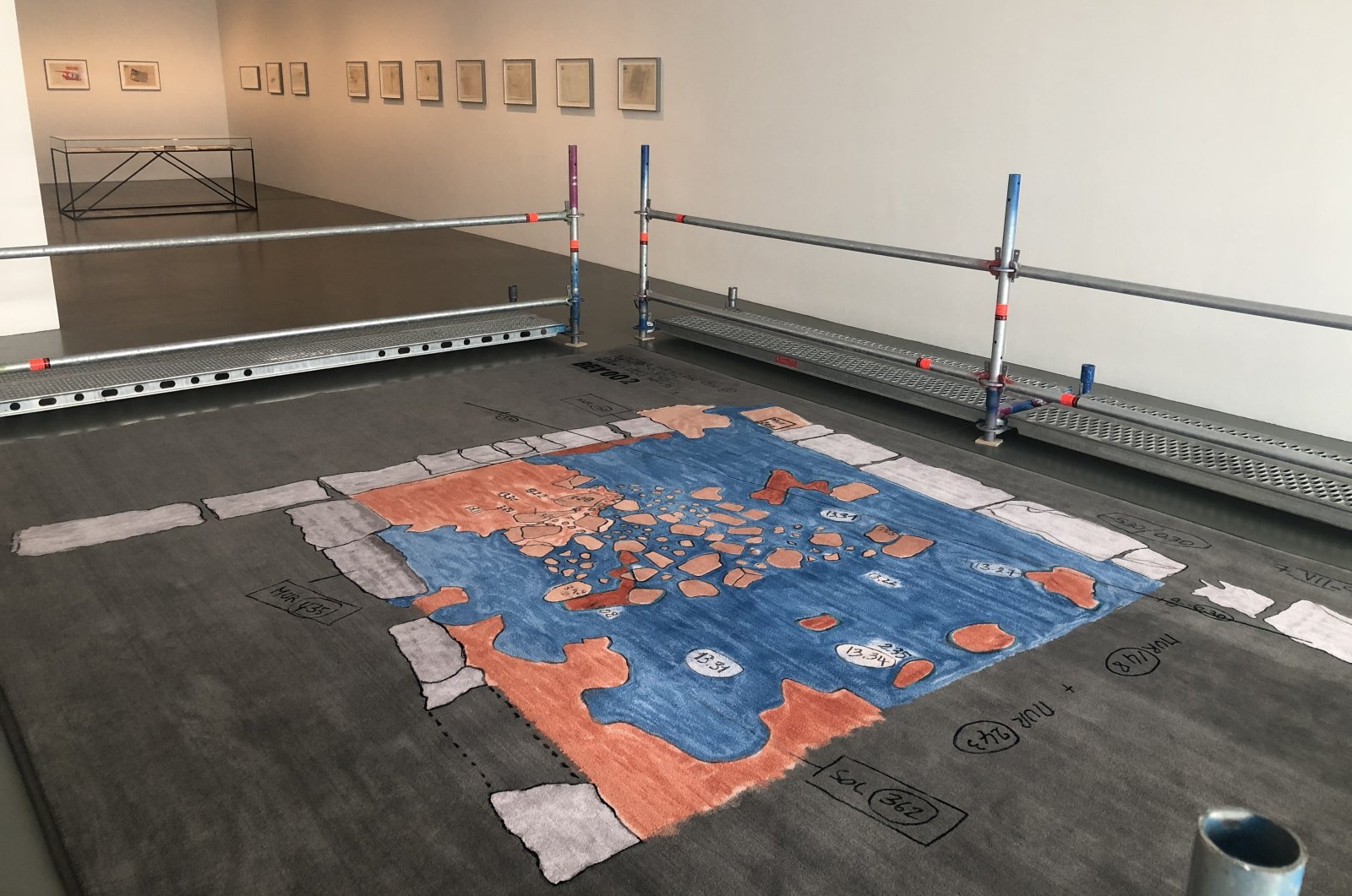 """A general view from """"BEY002"""" by Paola Yacoub at DAADGalerie Berlin. (Photo by Matt Hanson)"""
