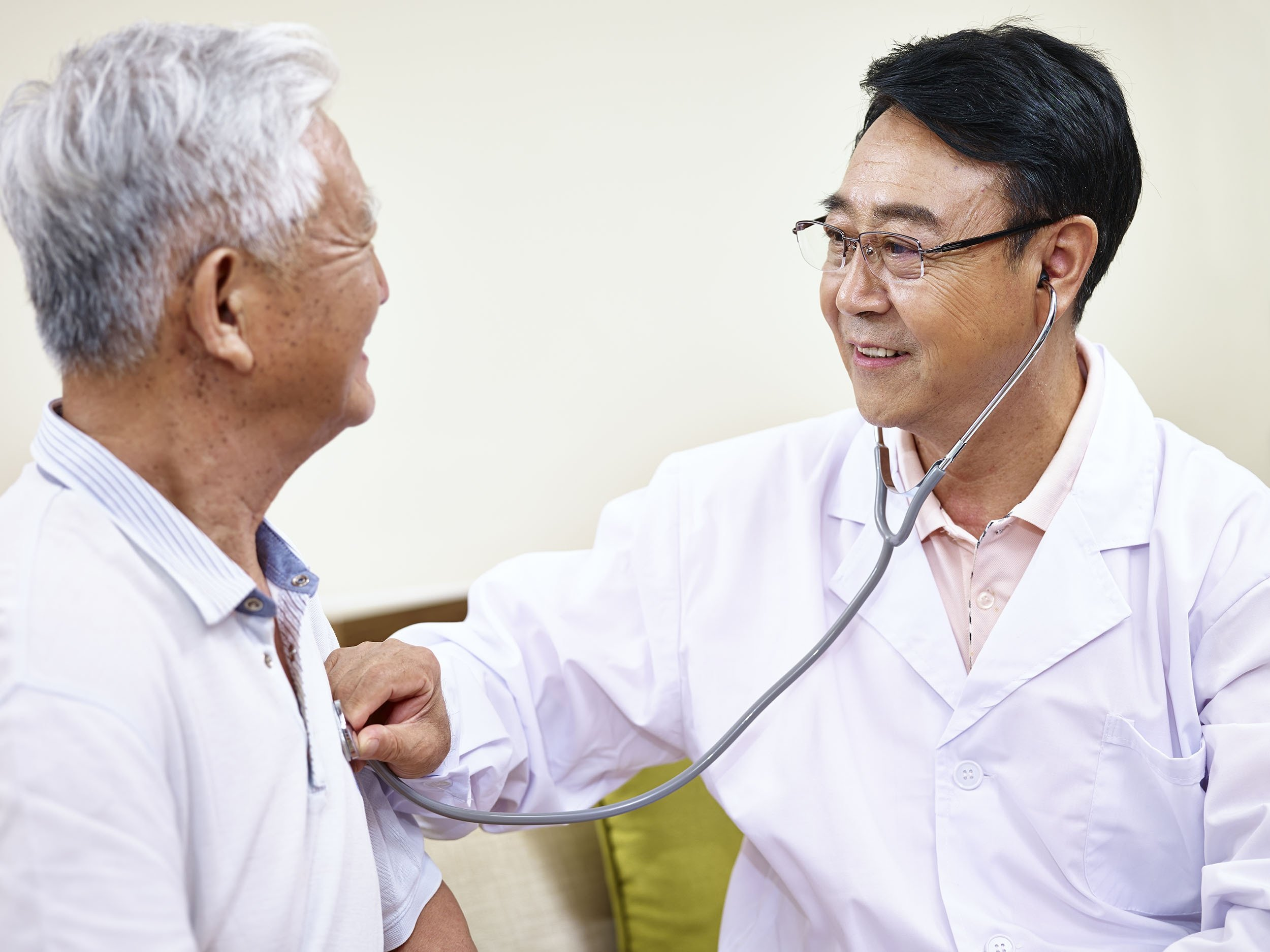 """The Chinese people's healthy life expectancy (known as """"HALE"""") is 2.5 years longer than Americans'. (Shutterstock Photo)"""