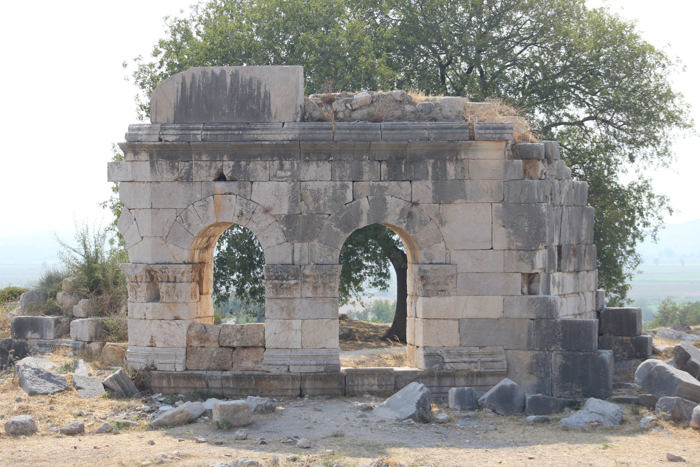 Ancient city of Kastabala in southern Turkey's Osmaniye. (AA Photo)