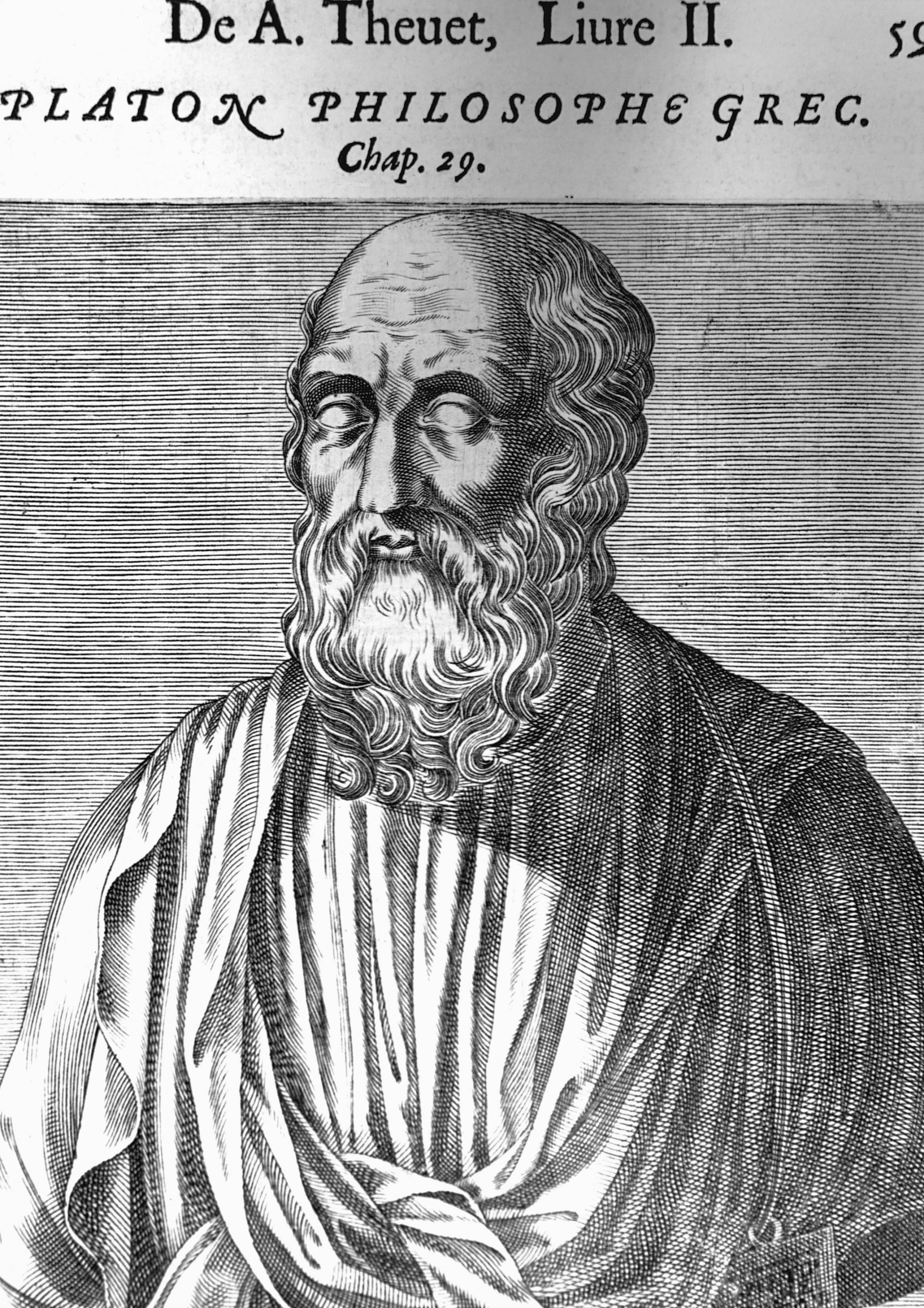"""Plato,student of Socrates andbest known for his """"Republic."""" (Getty Images)"""