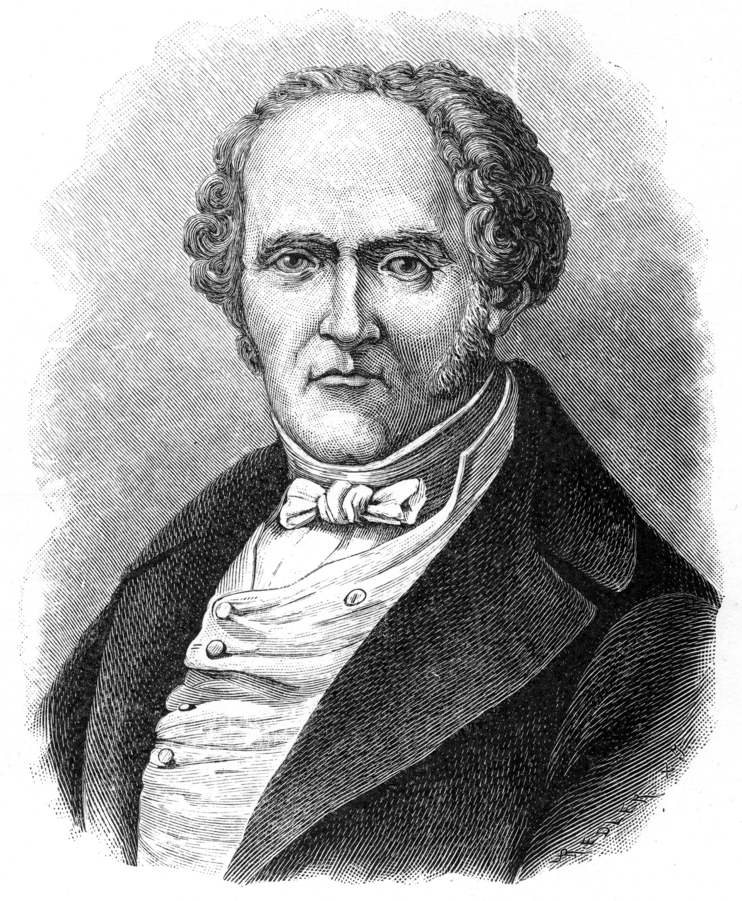François Marie Charles Fourier, French utopian socialist, 1903. (Getty Images)