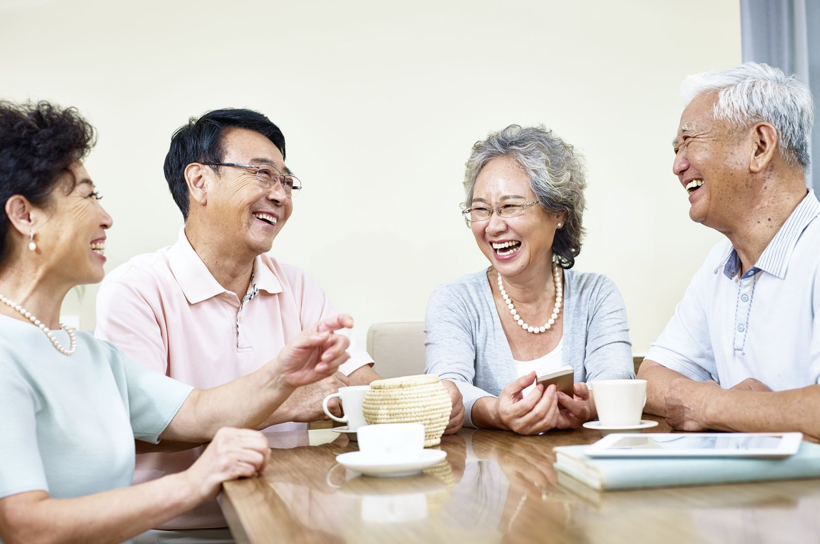 The elderly in East Asian economies are the healthiest in the world, living longer and healthier lives than their Western counterparts. (Shutterstock Photo)